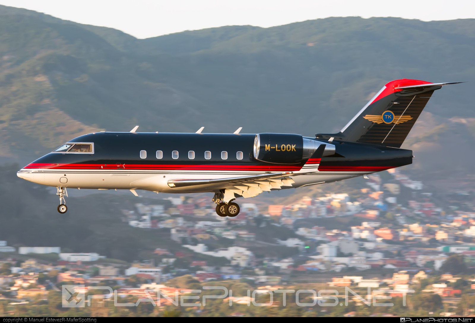 Bombardier CL-600-2B16 Challenger 604 - M-LOOK operated by Private operator #bombardier #challenger604 #cl6002b16
