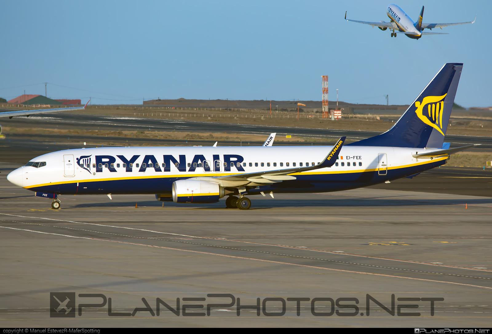 Boeing 737-800 - EI-FEE operated by Ryanair #b737 #b737nextgen #b737ng #boeing #boeing737 #ryanair