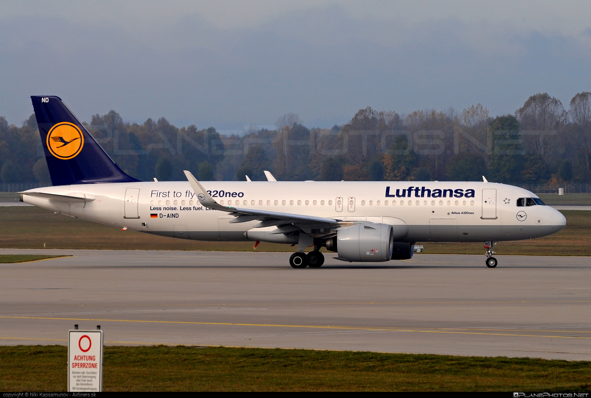 Airbus A320-271N - D-AIND operated by Lufthansa #a320 #a320family #a320neo #airbus #airbus320 #lufthansa