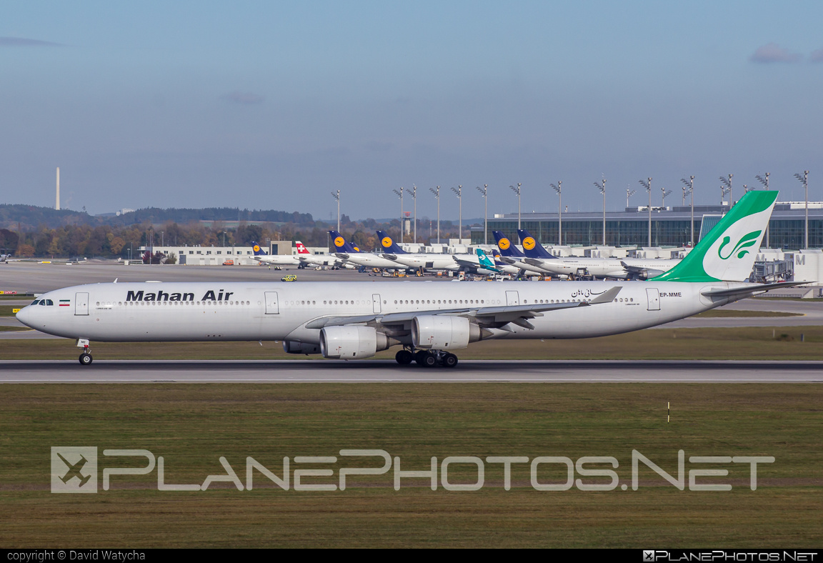 Airbus A340-642 - EP-MME operated by Mahan Air #a340 #a340family #airbus #airbus340