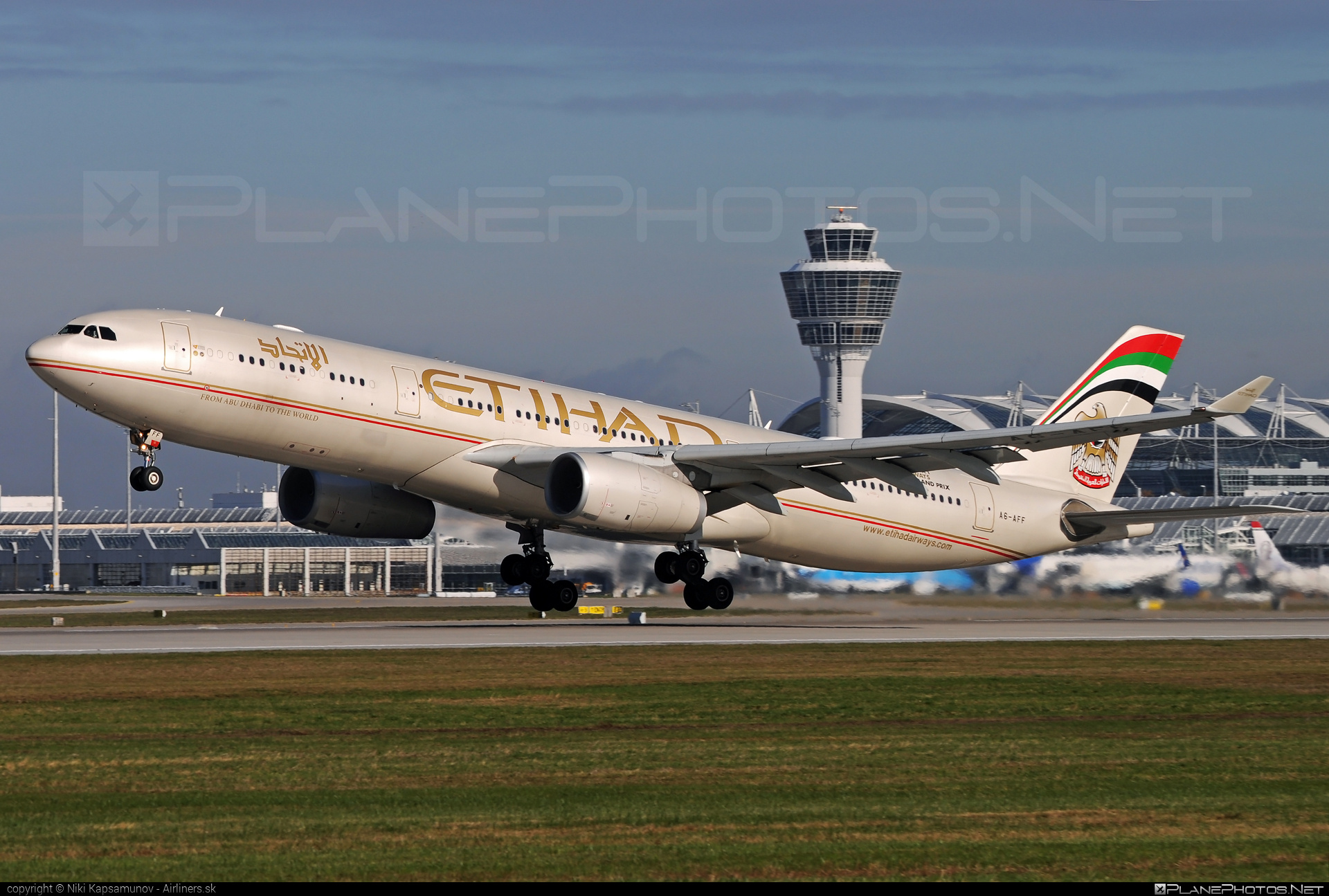 Airbus A330-343 - A6-AFF operated by Etihad Airways #a330 #a330family #airbus #airbus330 #etihad #etihadairways