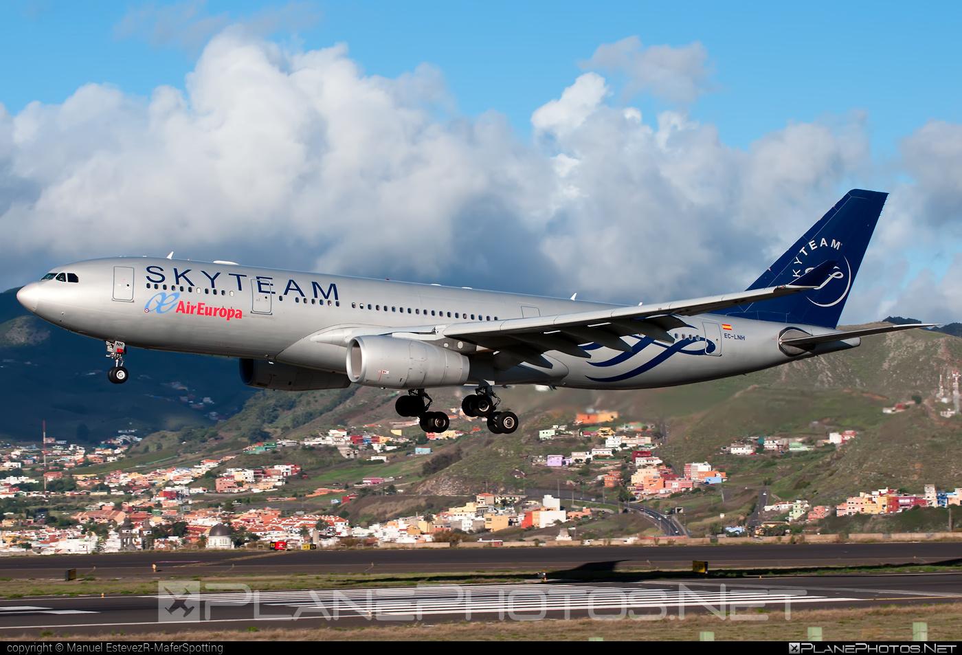 Airbus A330-243 - EC-LNH operated by Air Europa #a330 #a330family #airbus #airbus330
