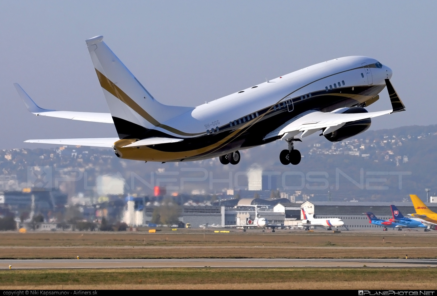 Boeing 737-700 BBJ - 9H-GGG operated by Maleth-Aero #b737 #b737bbj #bbj #boeing #boeing737 #boeingbusinessjet