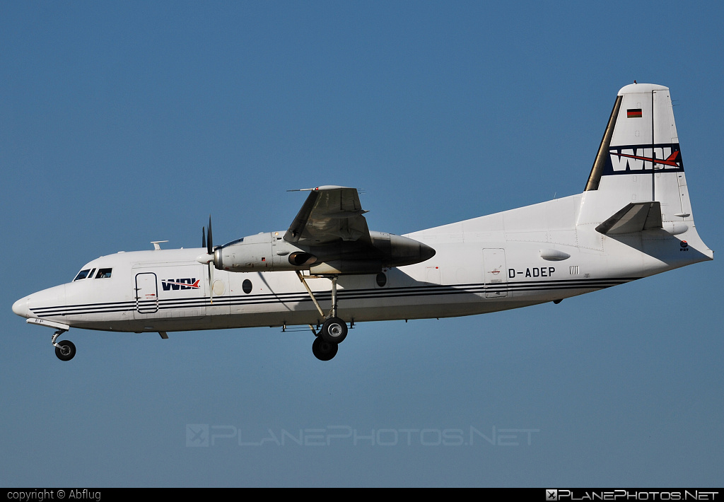Fokker F27-600 Friendship - D-ADEP operated by WDL Aviation #fokker