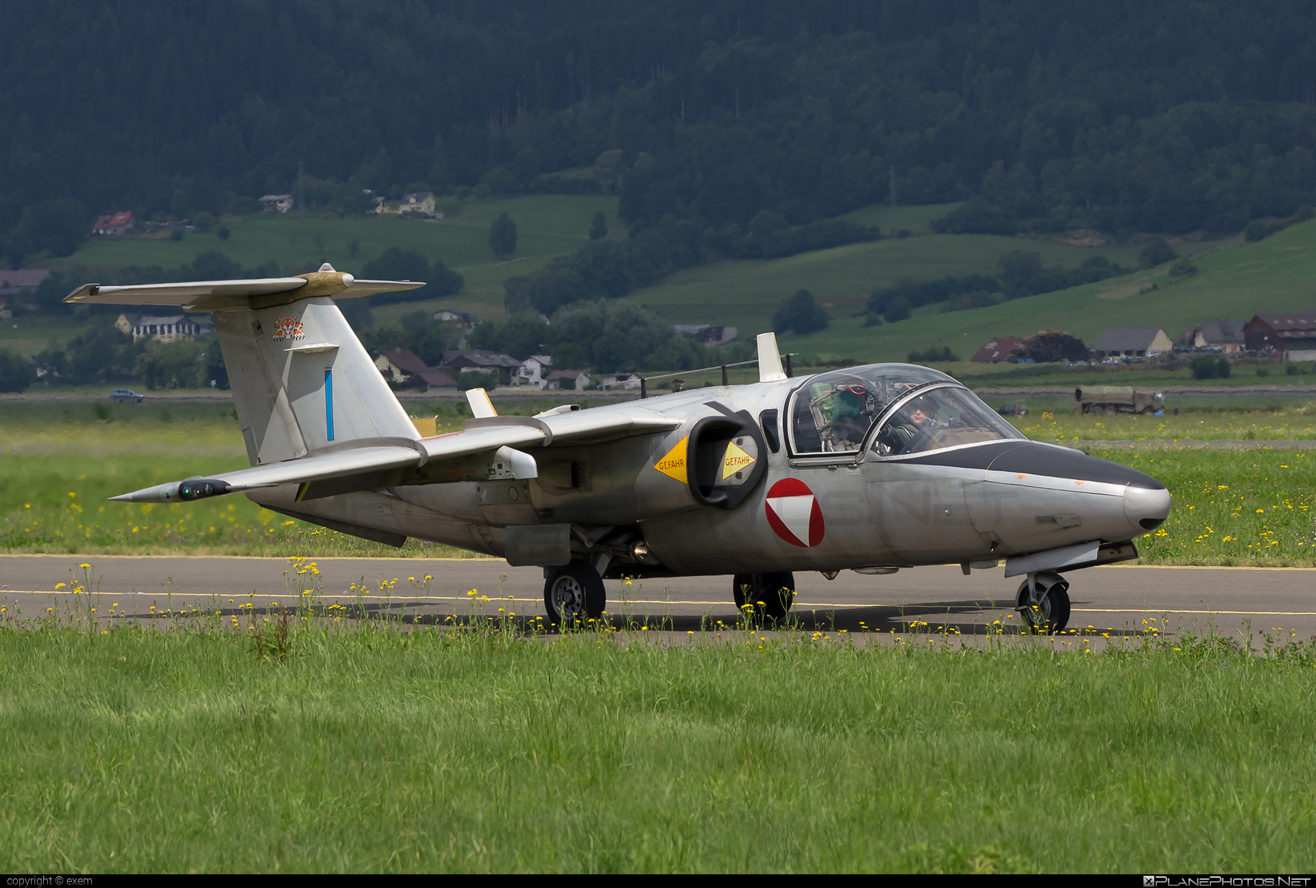 Saab 105OE - BJ-40 operated by Österreichische Luftstreitkräfte (Austrian Air Force) #airpower #airpower2013 #austrianairforce #saab