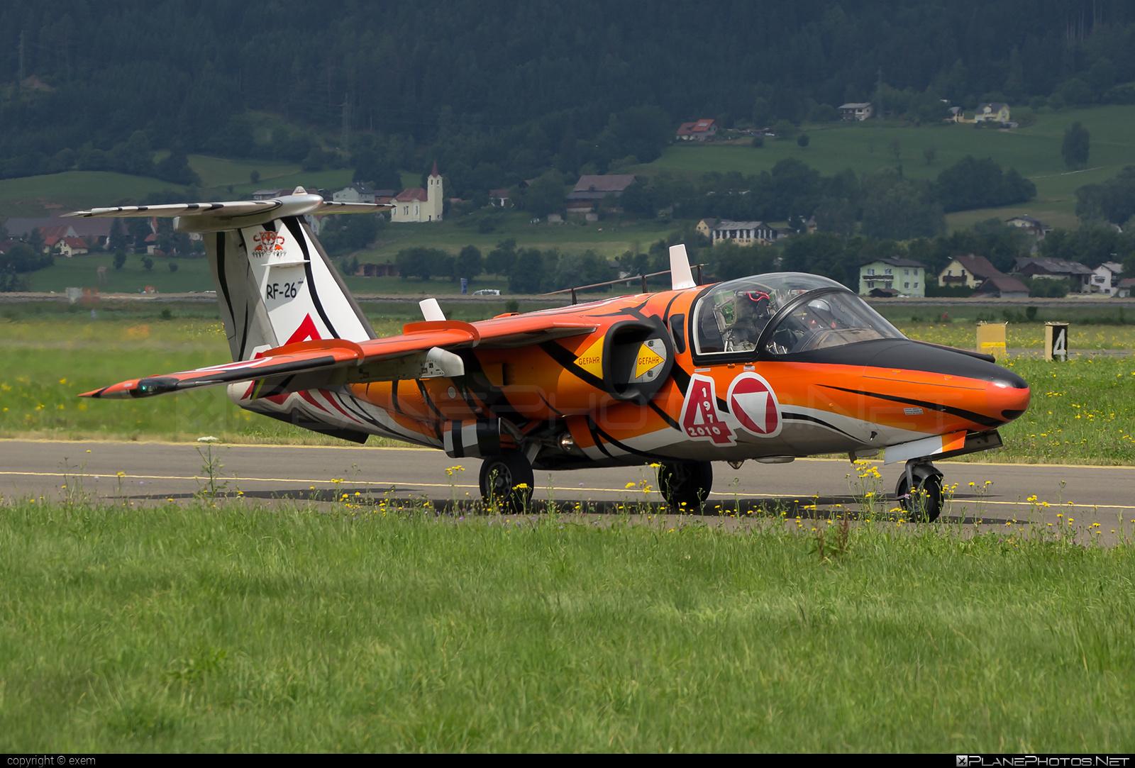 Saab 105OE - RF-26 operated by Österreichische Luftstreitkräfte (Austrian Air Force) #airpower #airpower2013 #austrianairforce #saab