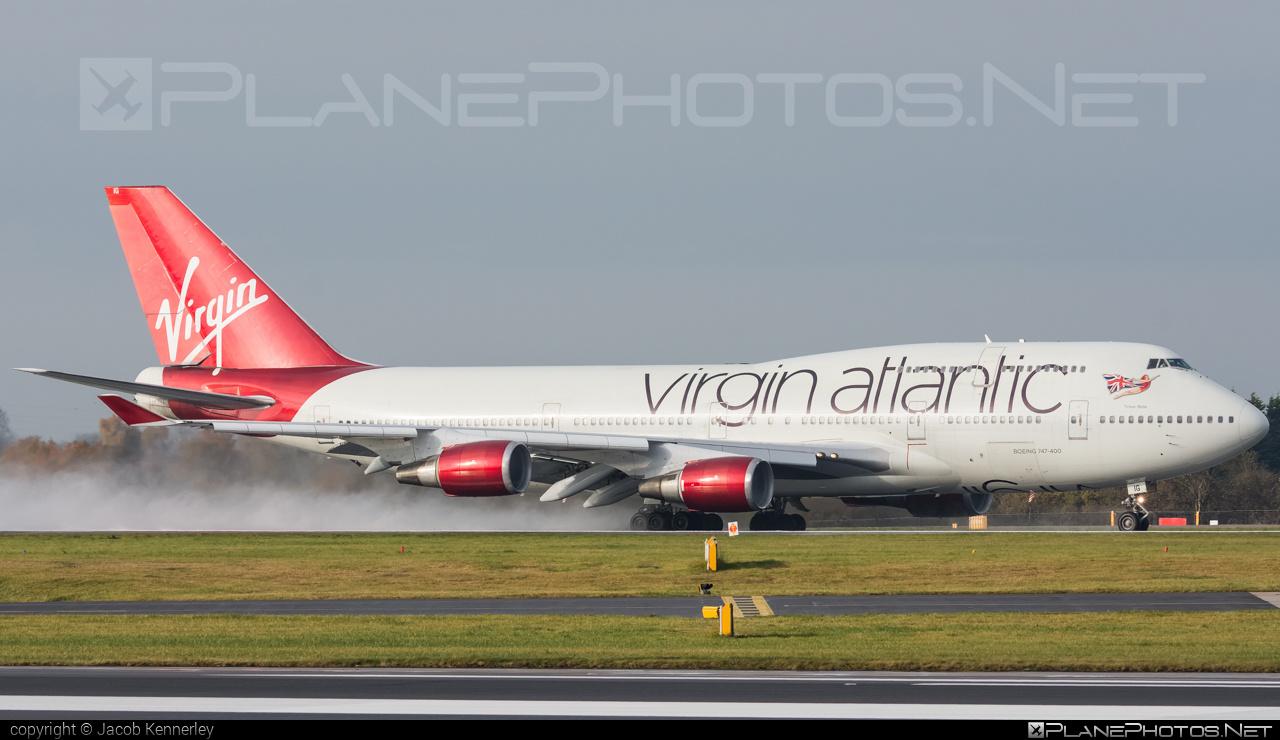 Boeing 747-400 - G-VBIG operated by Virgin Atlantic Airways #b747 #boeing #boeing747 #jumbo #virginatlantic #virginatlanticairways