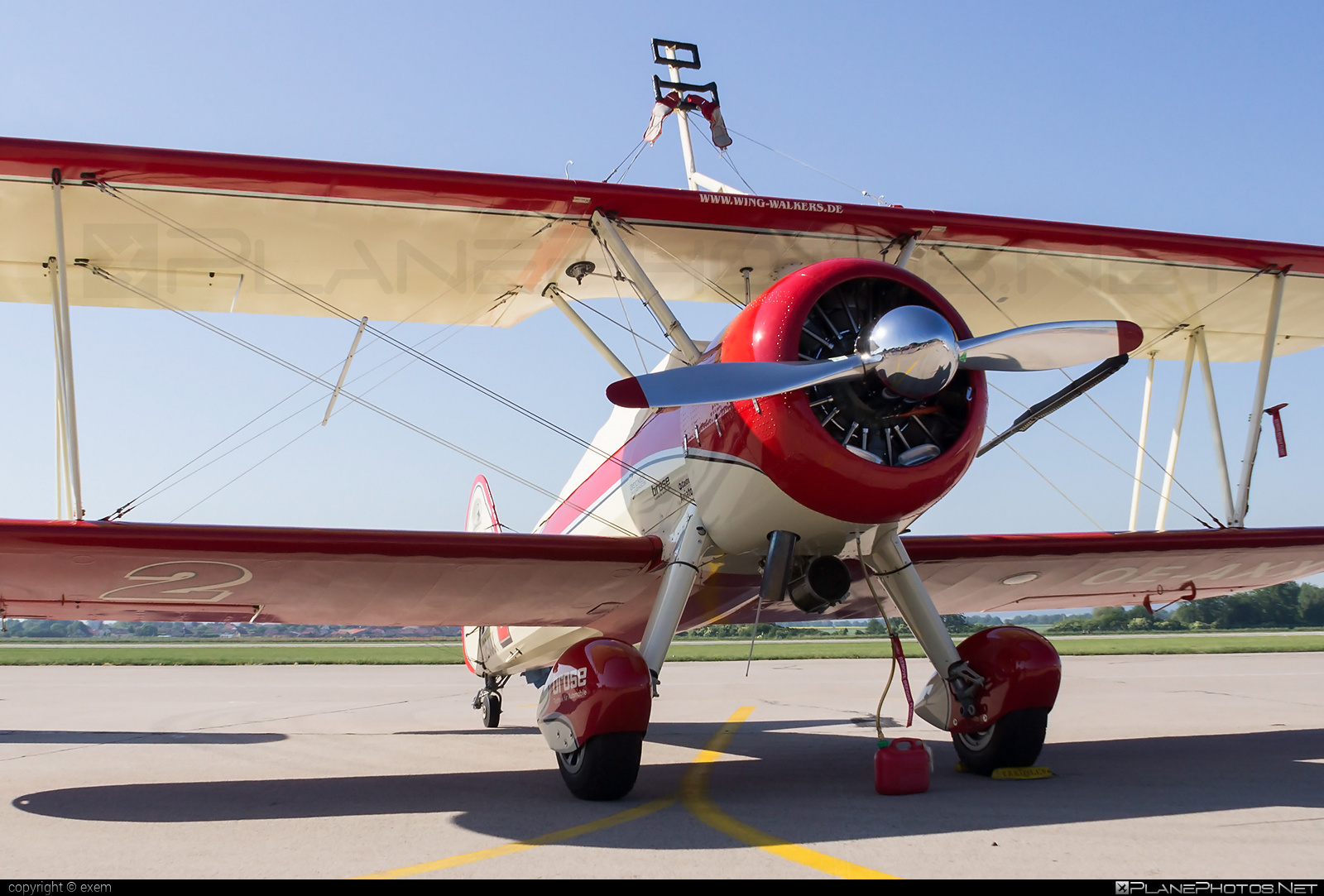 Boeing A75N1 Kaydet - OE-AXX operated by Private operator #a75n1 #boeing #boeinga75n1 #boeingkaydet #boeingstearman #stearman