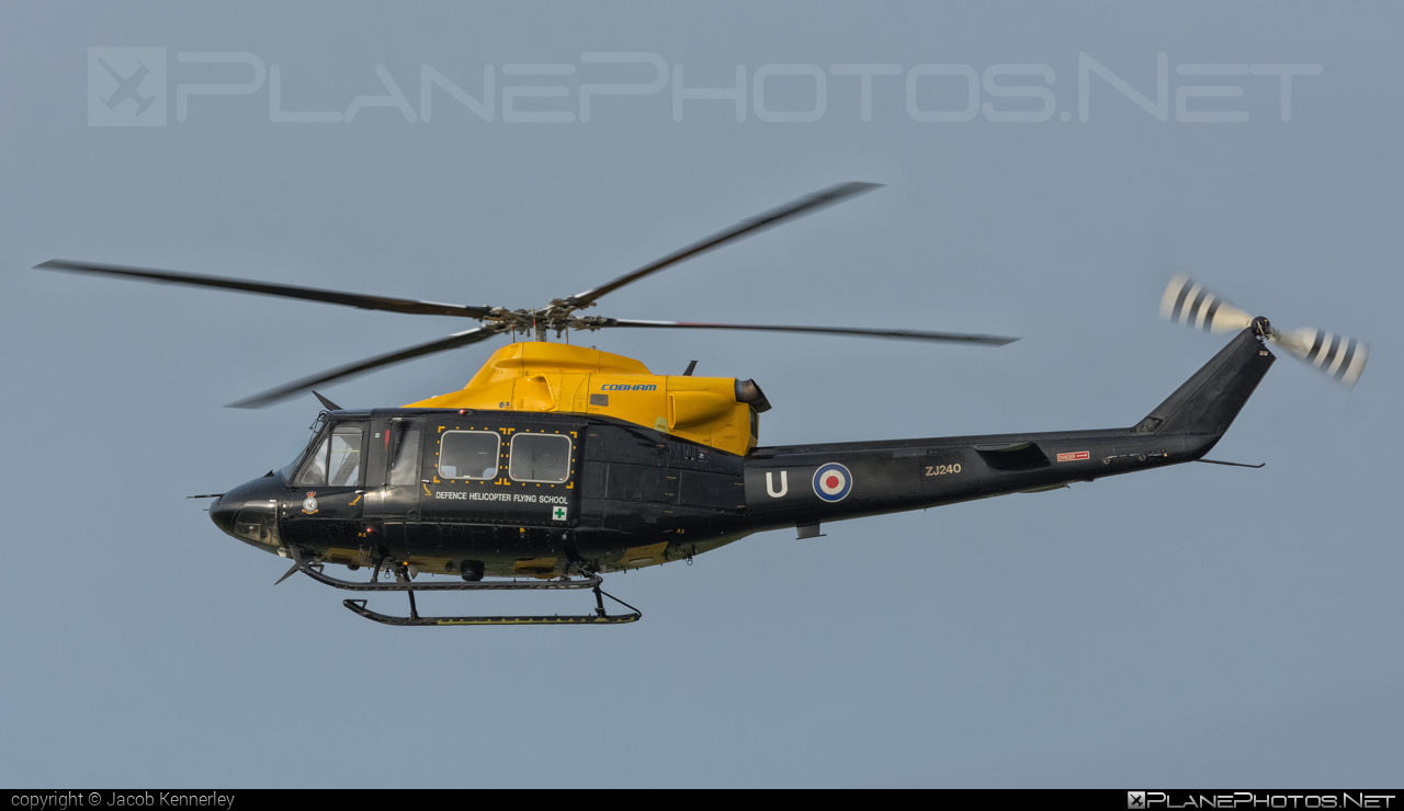 Bell Griffin HT.1 - ZJ240 operated by Royal Air Force (RAF) #bell #bellhelicopters #raf #royalairforce