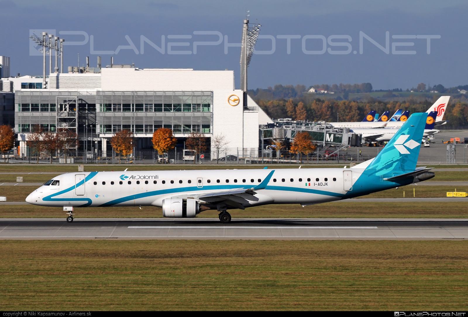 Embraer 190-200LR - I-ADJK operated by Air Dolomiti #airdolomiti #e195 #embraer #embraer195 #embraer195lr