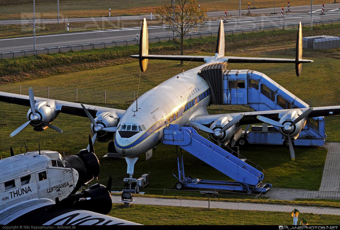 Lockheed L-1049G Super Constellation - D-ALEM operated by Lufthansa #lockheed #lufthansa #superconstellation