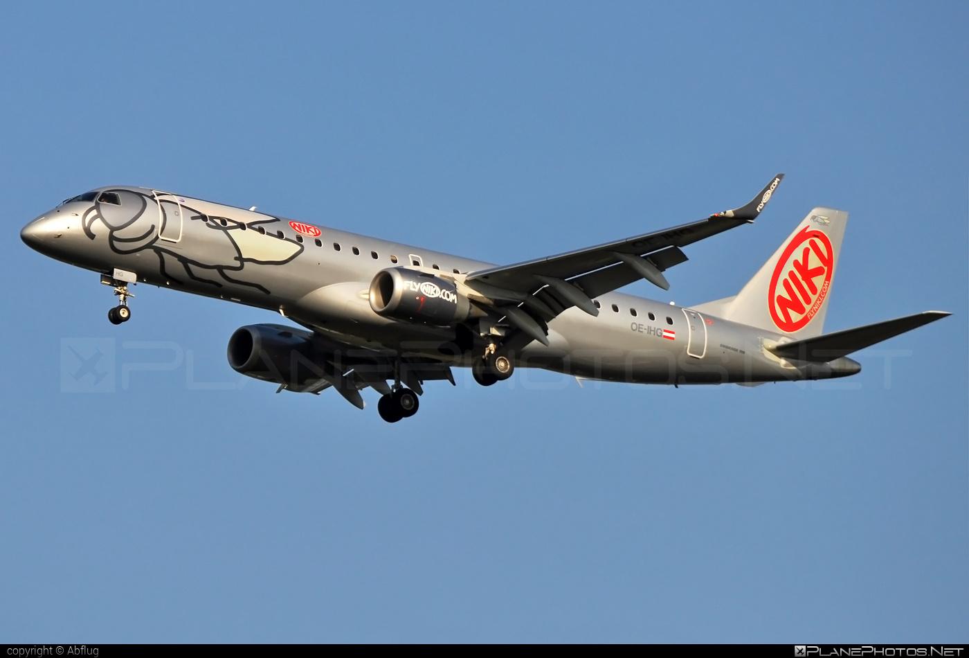 Embraer E190LR (ERJ-190-100LR) - OE-IHG operated by Niki #e190 #e190100 #e190100lr #e190lr #embraer #embraer190 #embraer190100lr #embraer190lr #flyniki #niki