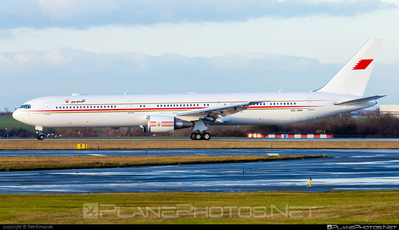 Boeing 767-400ER - A9C-HMH operated by Bahrain - Royal Flight #b767 #b767er #boeing #boeing767
