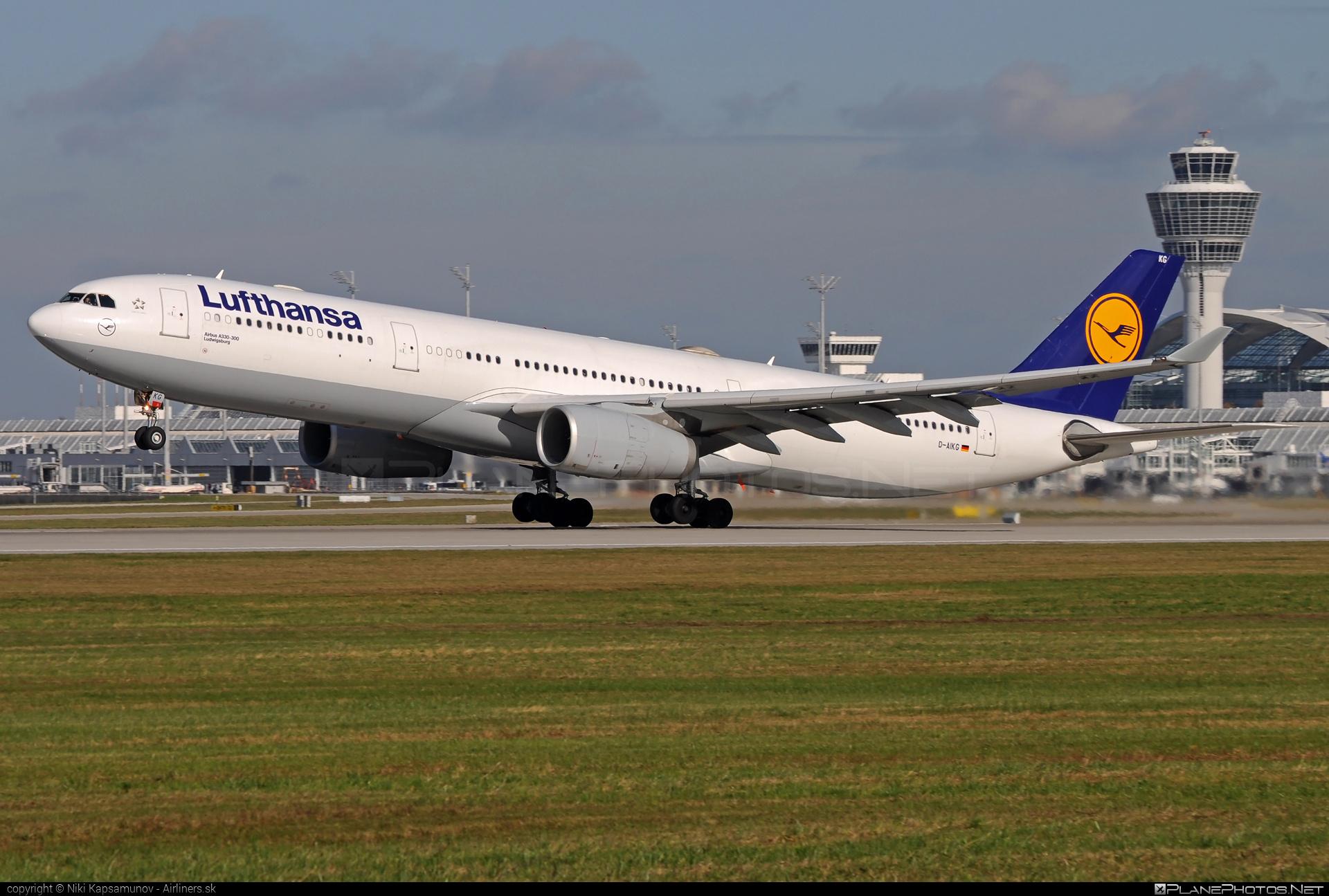 Airbus A330-343 - D-AIKG operated by Lufthansa #a330 #a330family #airbus #airbus330 #lufthansa