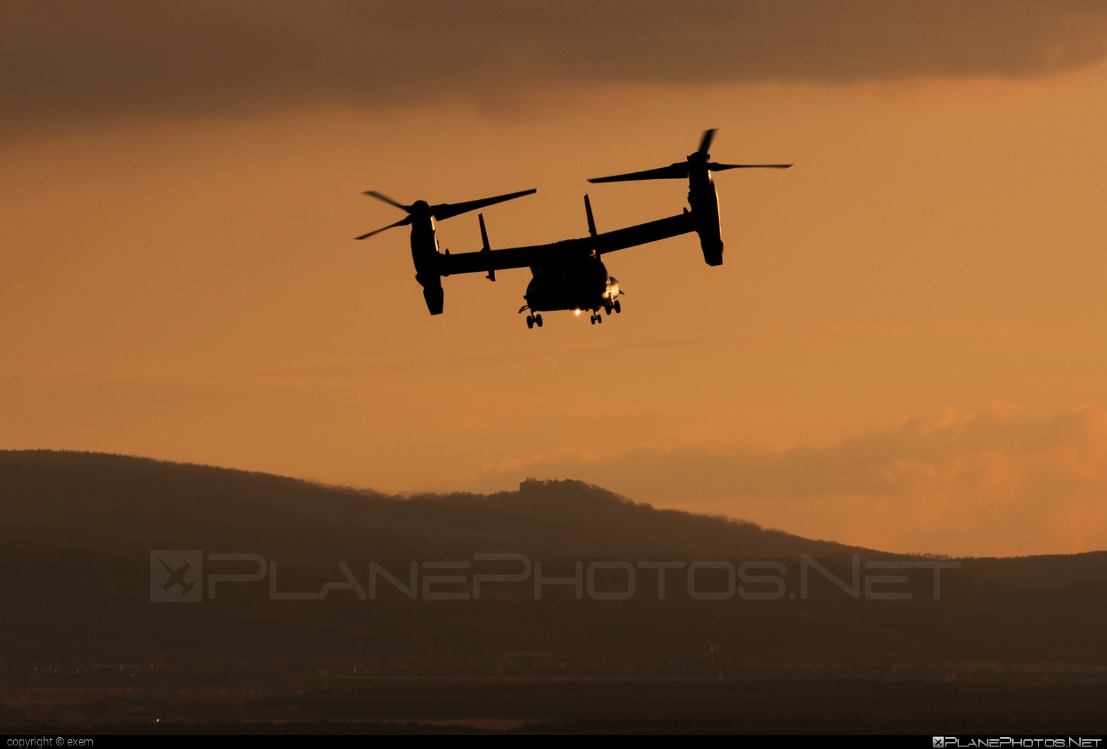 Bell Boeing CV-22B Osprey - 12-0063 operated by US Air Force (USAF) #bellboeing #usaf #usairforce