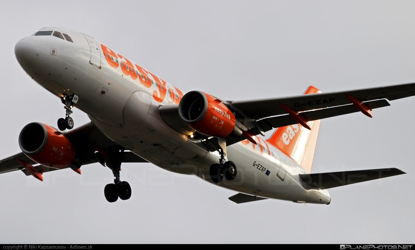 Airbus A319-111 - G-EZAP operated by easyJet #a319 #a320family #airbus #airbus319 #easyjet