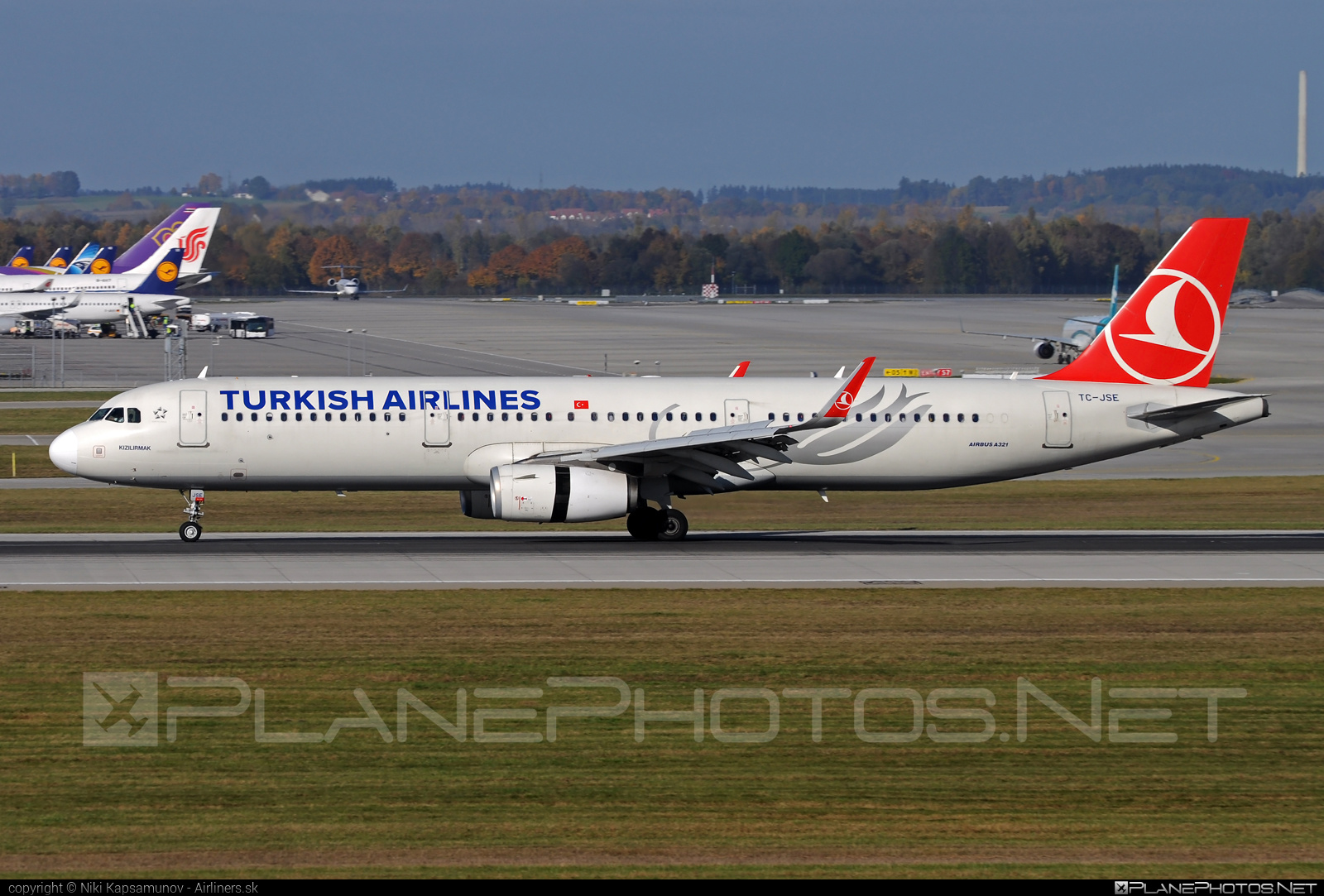 Airbus A321-231 - TC-JSE operated by Turkish Airlines #a320family #a321 #airbus #airbus321 #turkishairlines