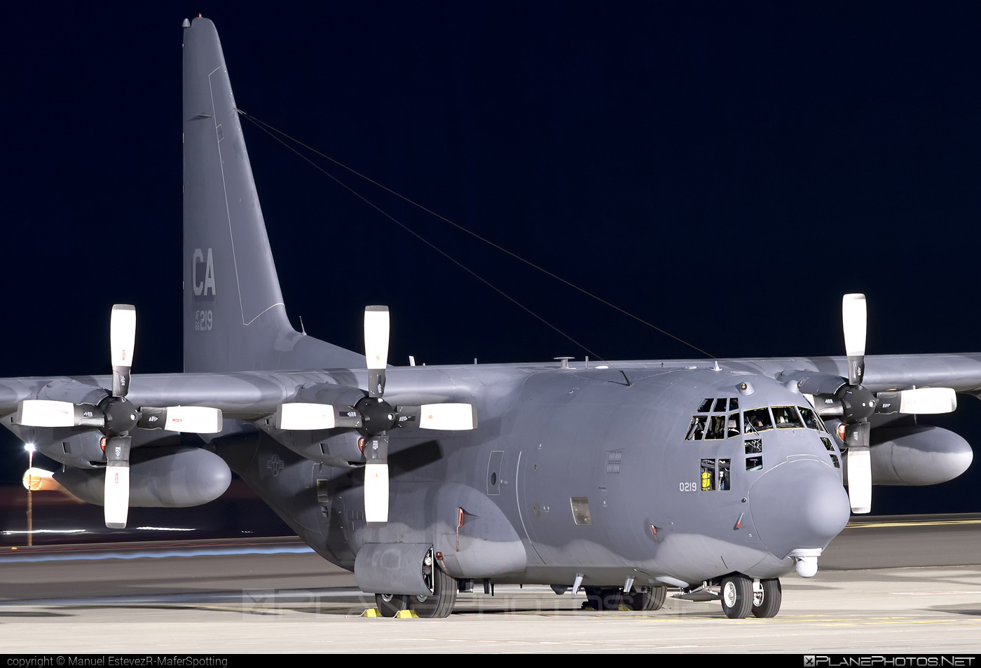 Lockheed MC-130P Combat Shadow - 66-0219 operated by US Air Force (USAF) #lockheed #usaf #usairforce