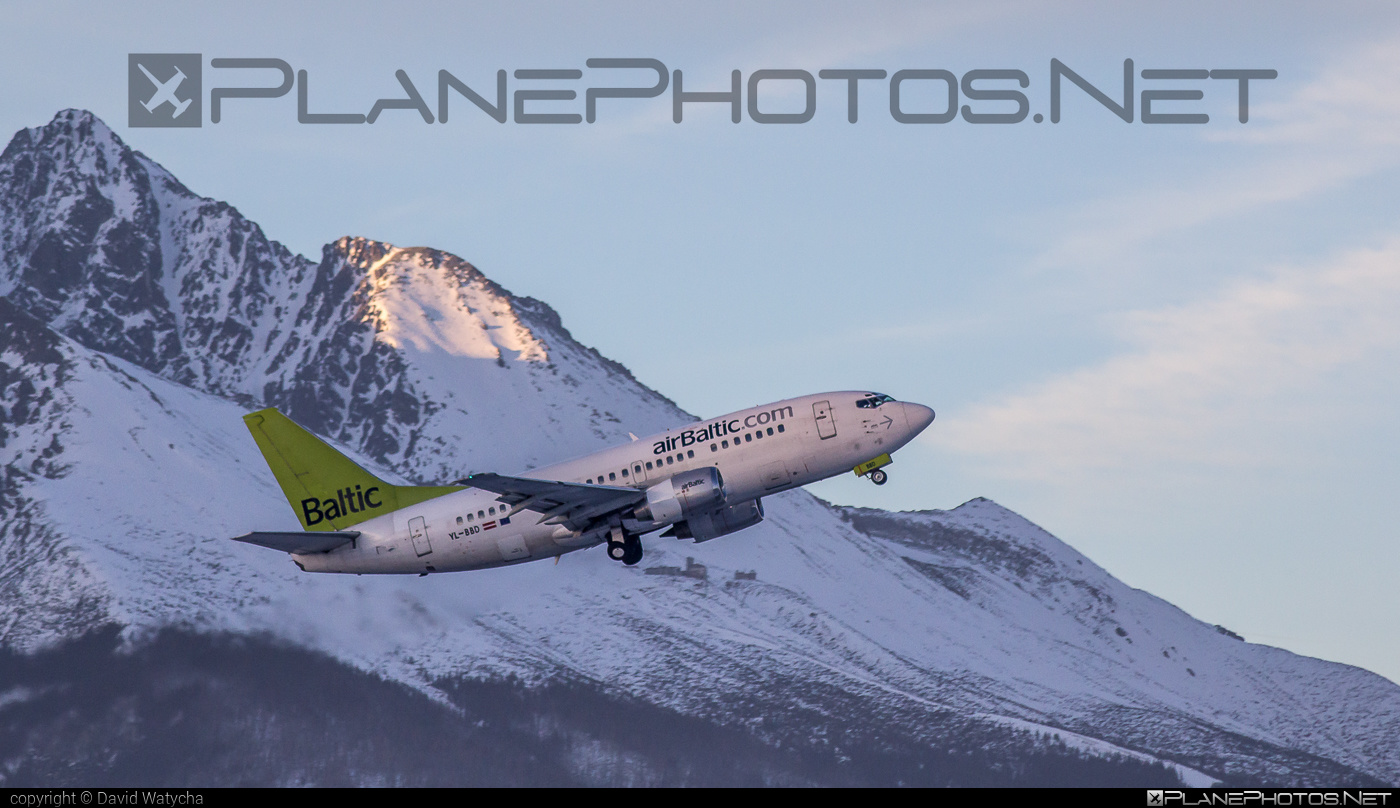 Boeing 737-500 - YL-BBD operated by Air Baltic #airbaltic #b737 #boeing #boeing737