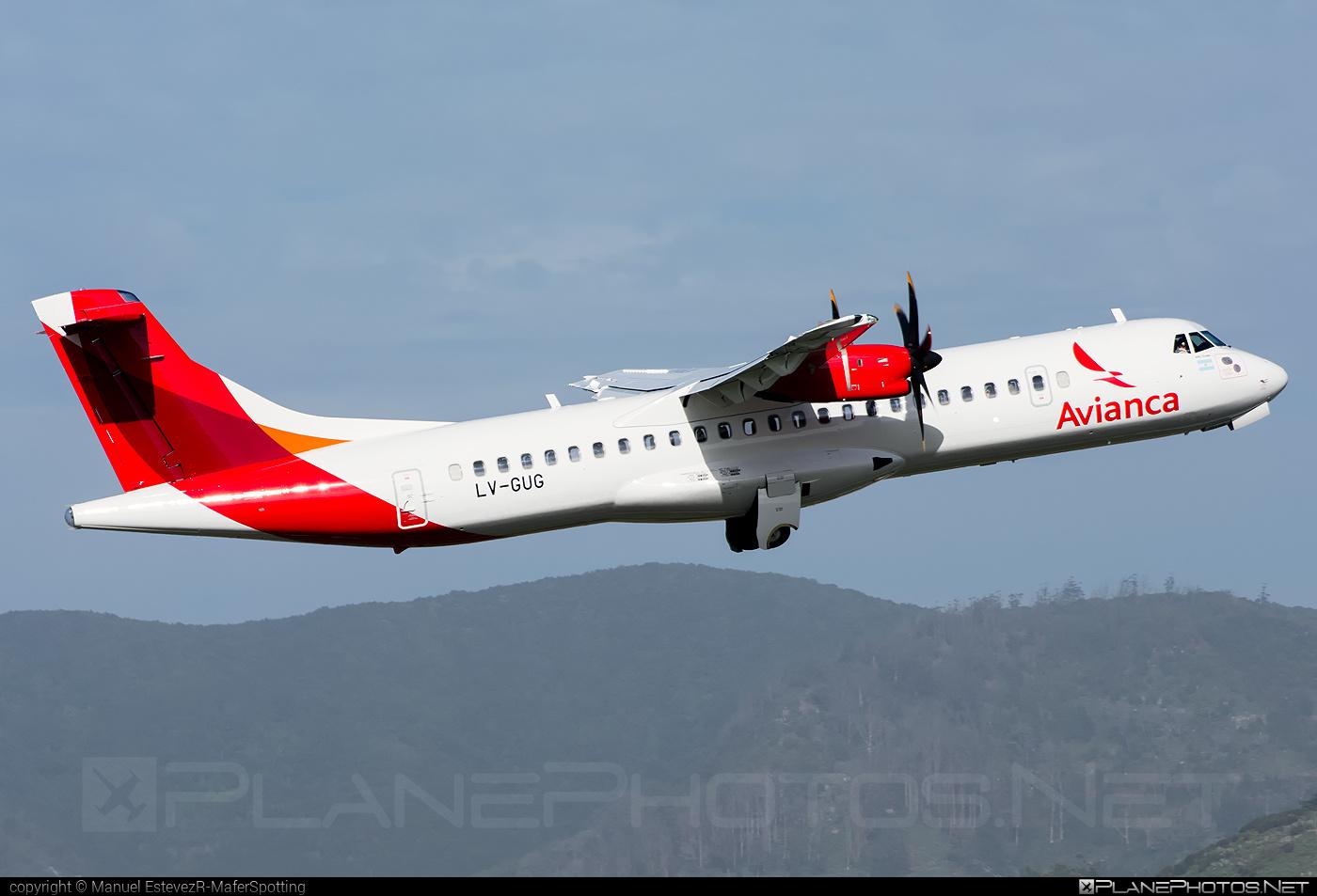 ATR 72-600 - LV-GUG operated by Avianca Argentina #atr #avianca #aviancaargentina
