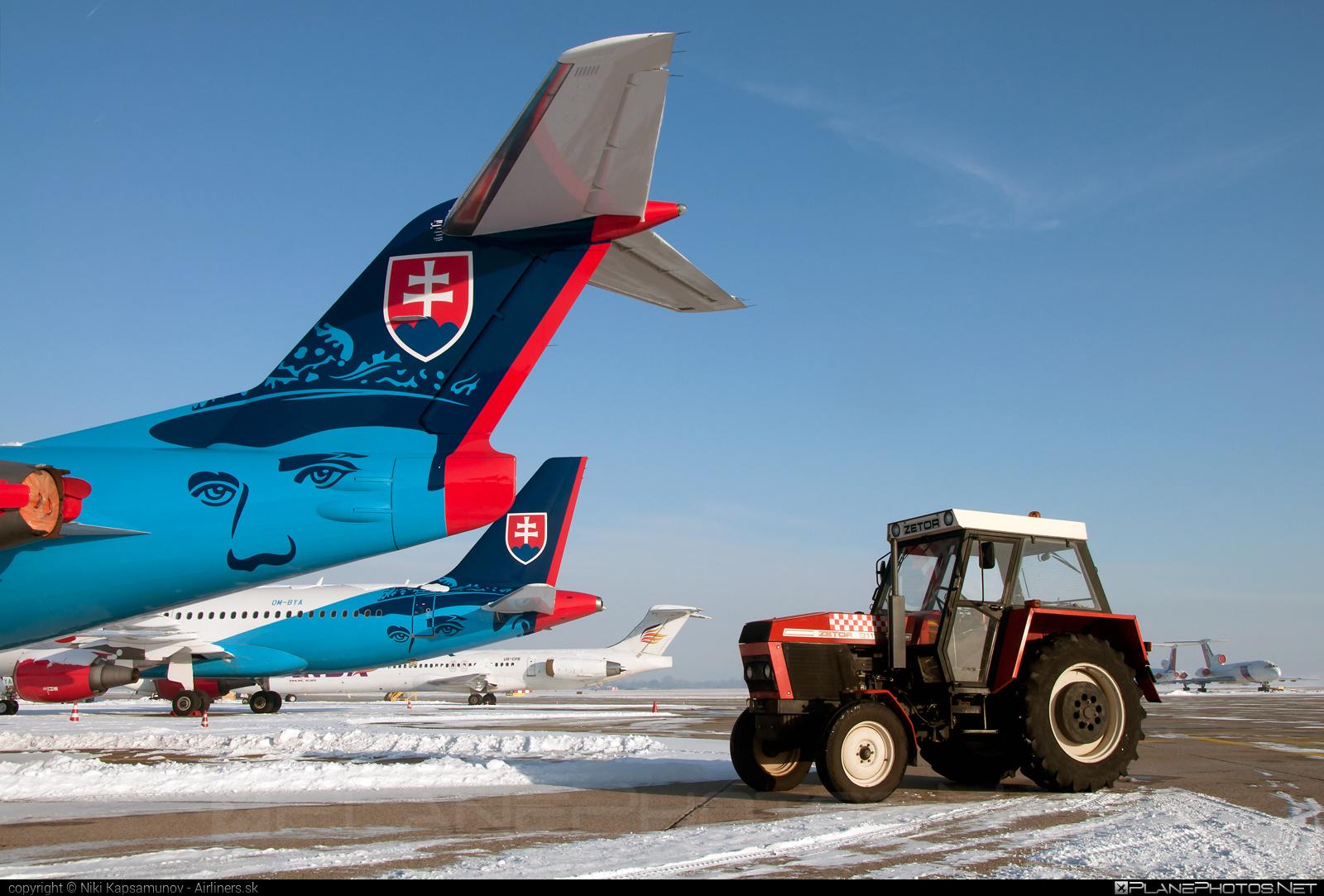 Fokker 100EJ - OM-BYC operated by Letecký útvar MV SR (Slovak Government Flying Service) #SlovakGovernmentFlyingService #fokker #fokker100 #fokker100ej #leteckyutvarMVSR