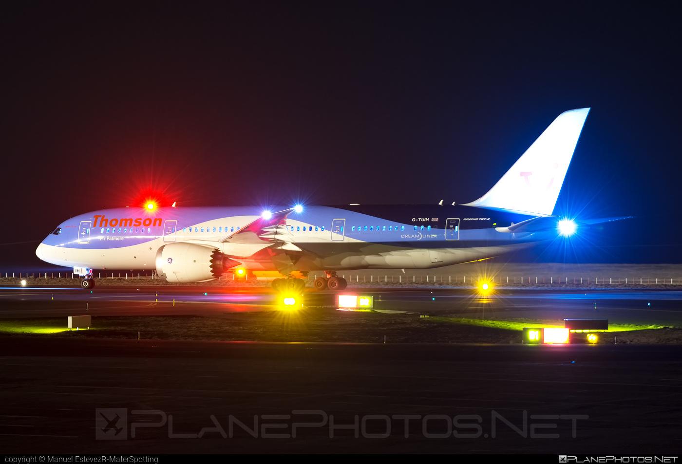 Thomson Airways Boeing 787-8 Dreamliner - G-TUIH #b787 #boeing #boeing787 #dreamliner