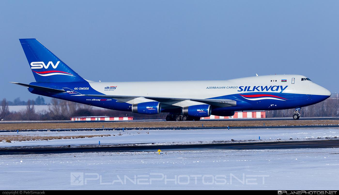 Silk Way West Airlines Boeing 747-400F - 4K-SW008 #b747 #boeing #boeing747 #jumbo #silkwayairlines #silkwaywestairlines