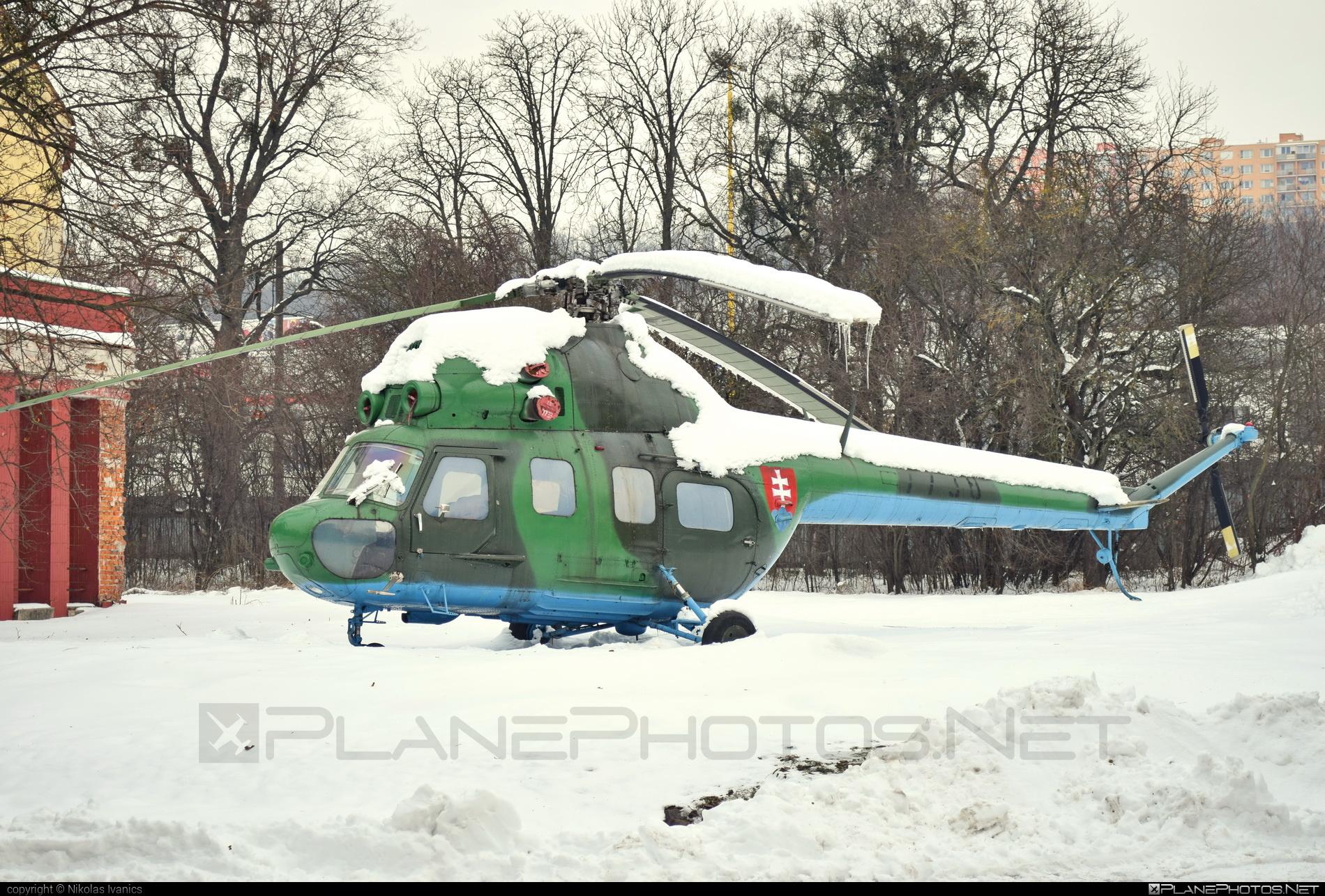 Mil Mi-2 - 7739 operated by Vzdušné sily OS SR (Slovak Air Force) #mil #milhelicopters #slovakairforce #vzdusnesilyossr