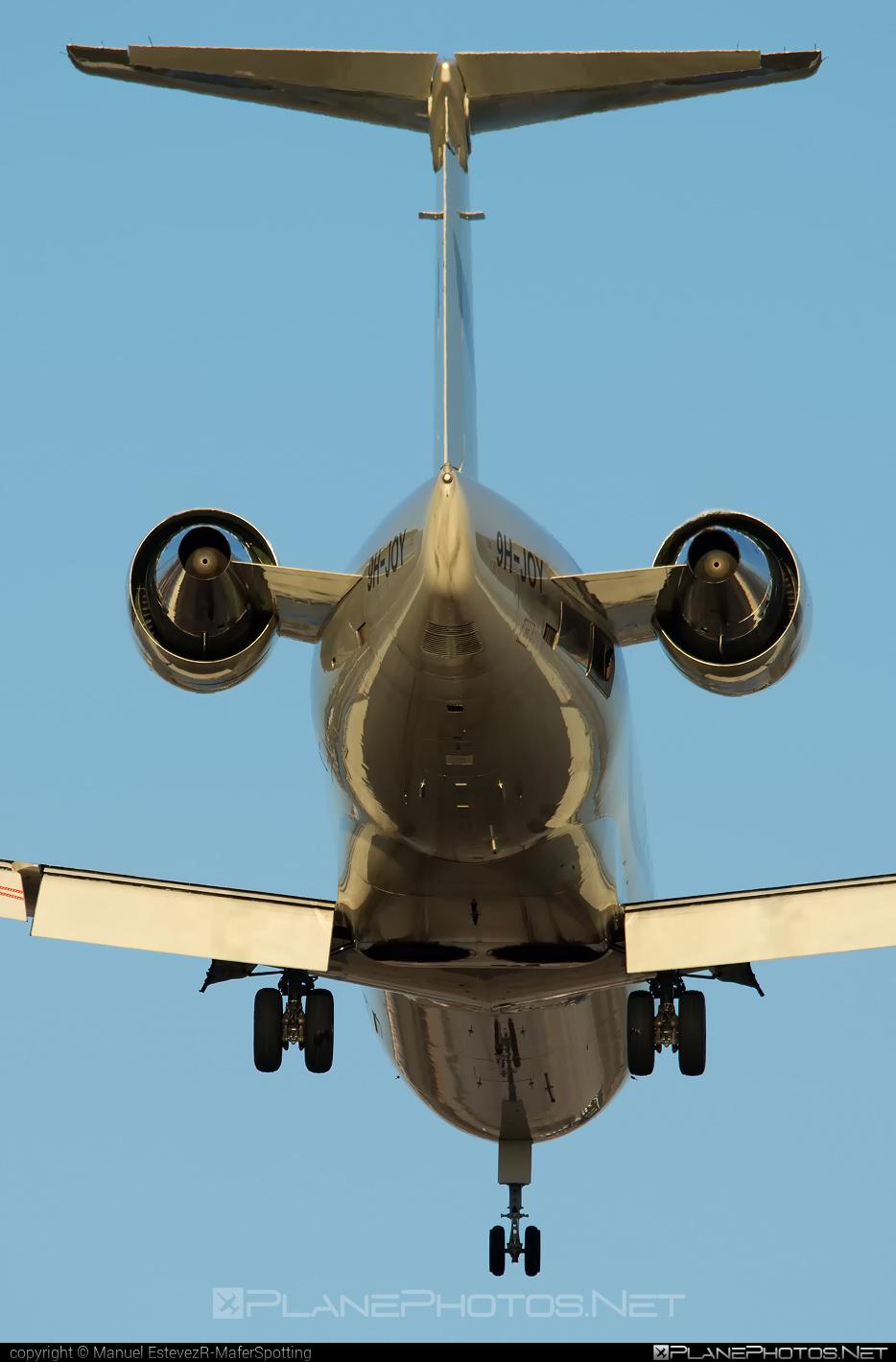 Air X Charter Bombardier CL-600-2B19 Challenger 850 - 9H-JOY #bombardier