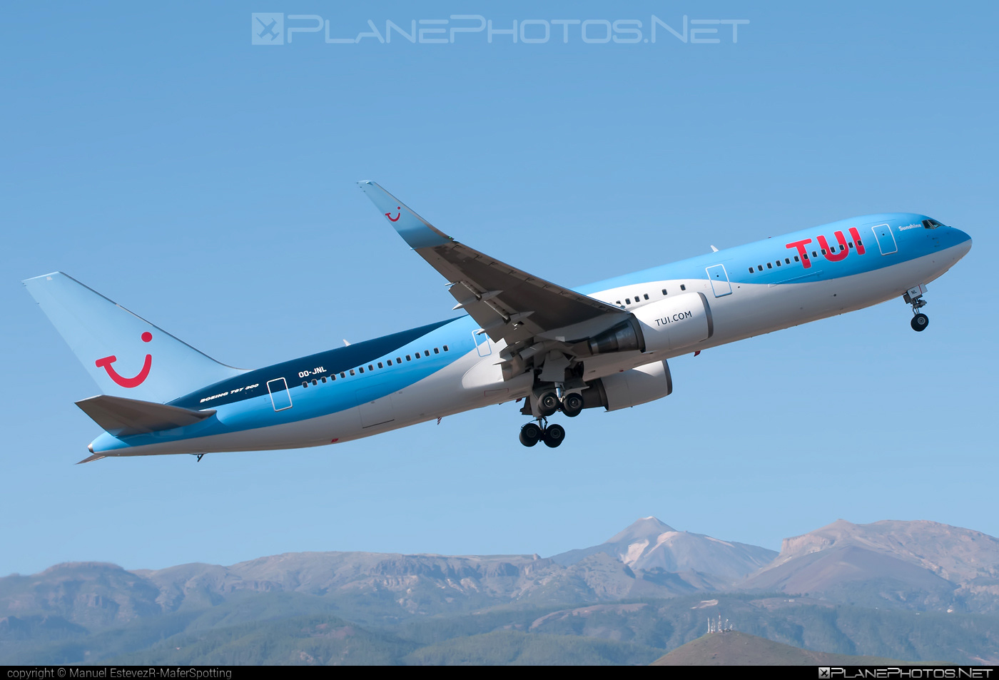 Boeing 767-300ER - OO-JNL operated by TUI Airlines Belgium #b767 #b767er #boeing #boeing767 #tui #tuiairlines #tuiairlinesbelgium