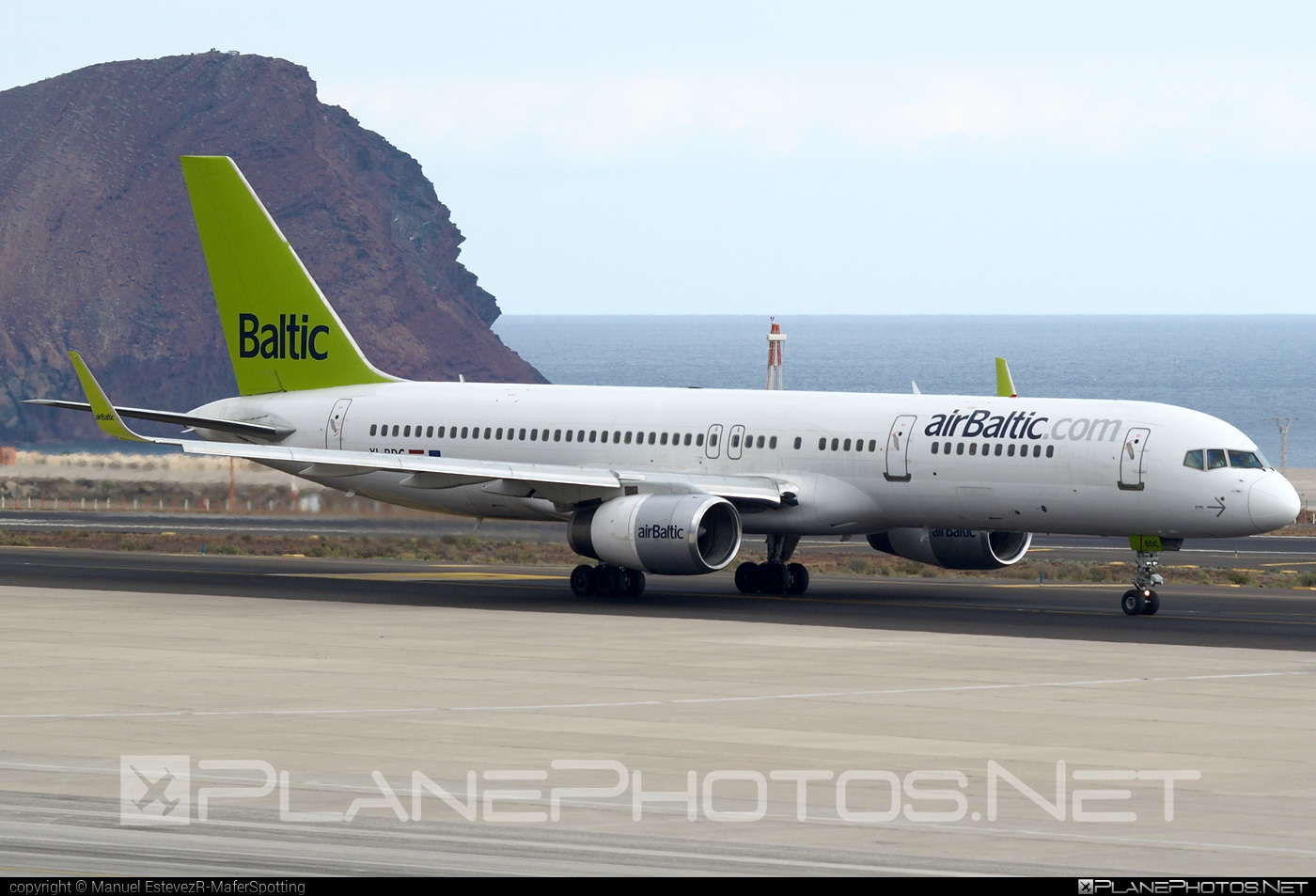 Boeing 757-200 - YL-BDC operated by Air Baltic #airbaltic #b757 #boeing #boeing757