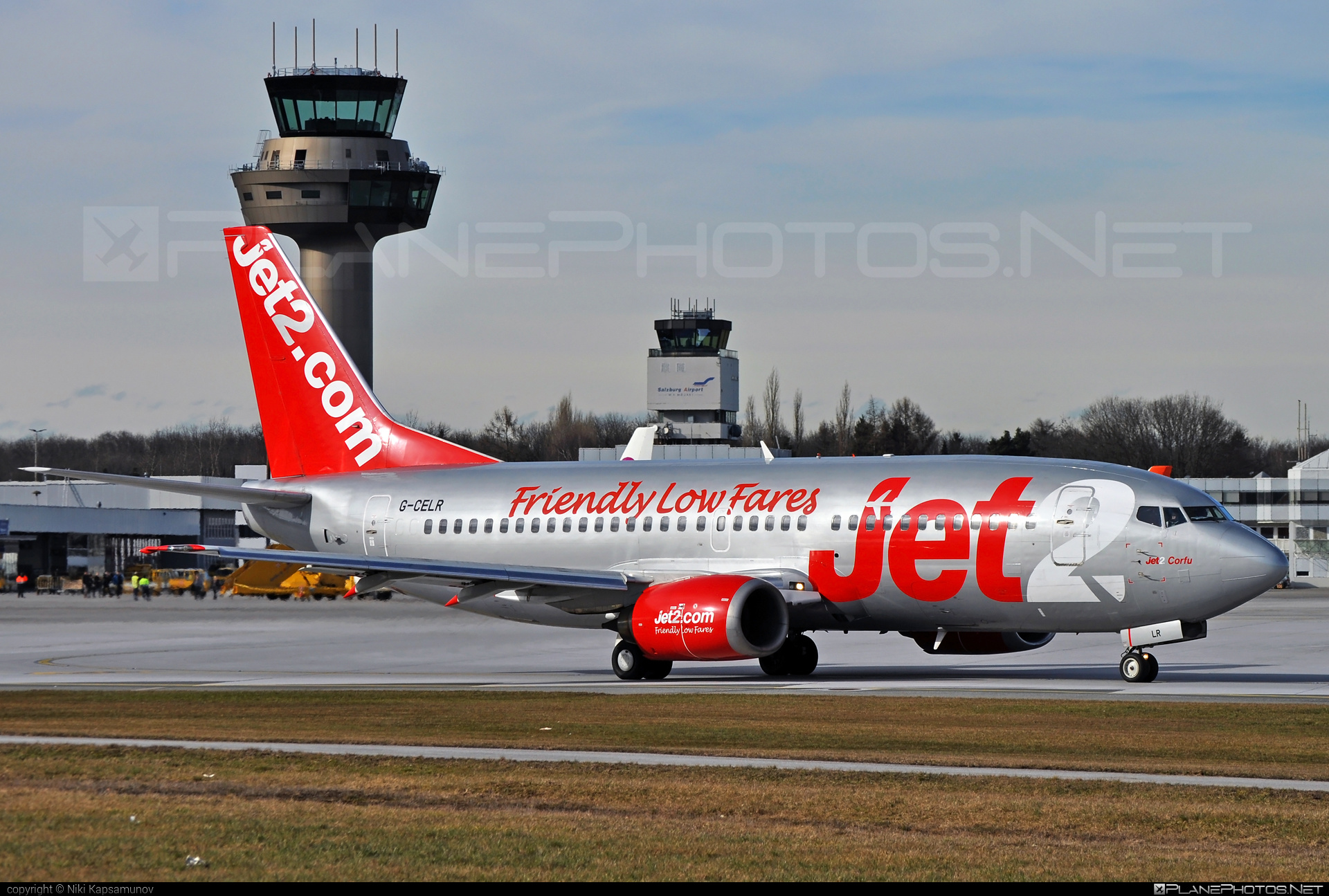Boeing 737-300QC - G-CELR operated by Jet2 #b737 #b737qc #boeing #boeing737 #jet2