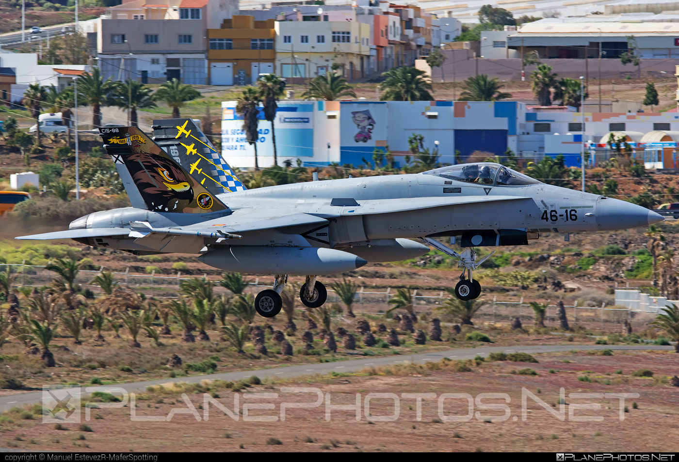 Ejército del Aire (Spanish Air Force) McDonnell Douglas EF-18A+ Hornet - C.15-88 #ef18a #ejercitodelaire #f18 #f18hornet #mcdonnelldouglas #spanishairforce