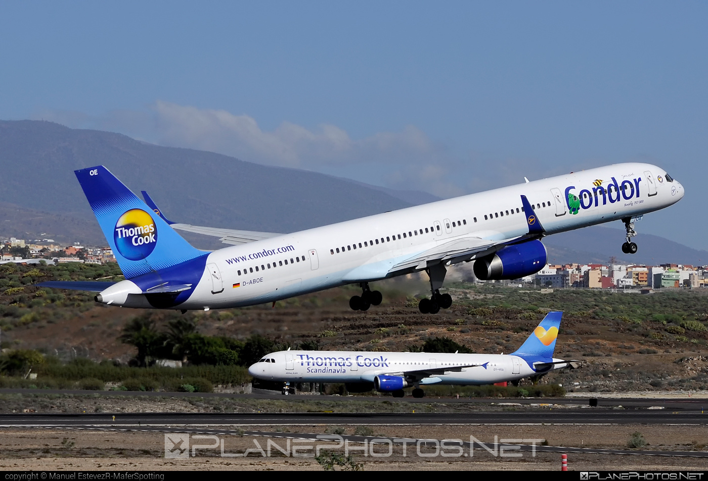 Boeing 757-300 - D-ABOE operated by Condor #b757 #boeing #boeing757