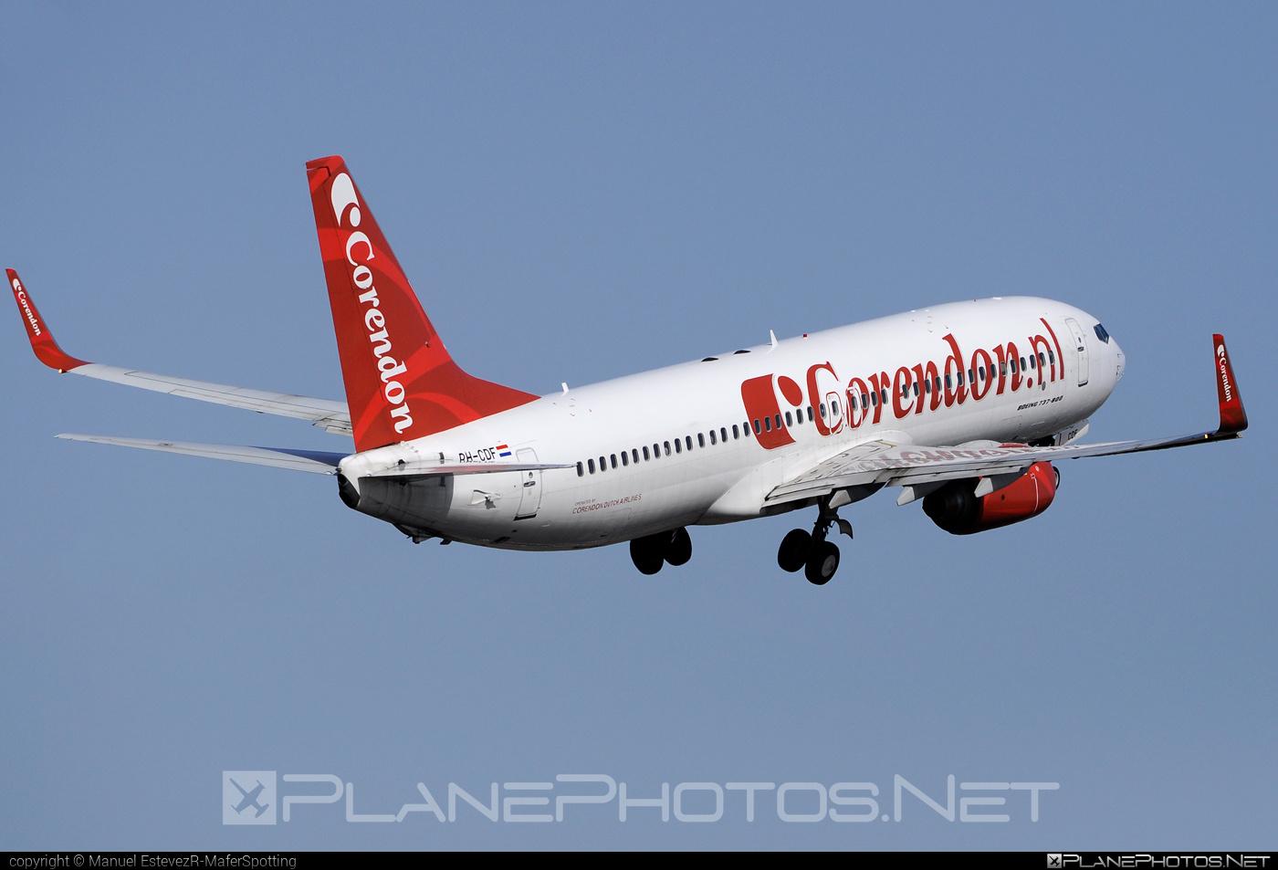 Boeing 737-800 - PH-CDF operated by Corendon Dutch Airlines #b737 #b737nextgen #b737ng #boeing #boeing737