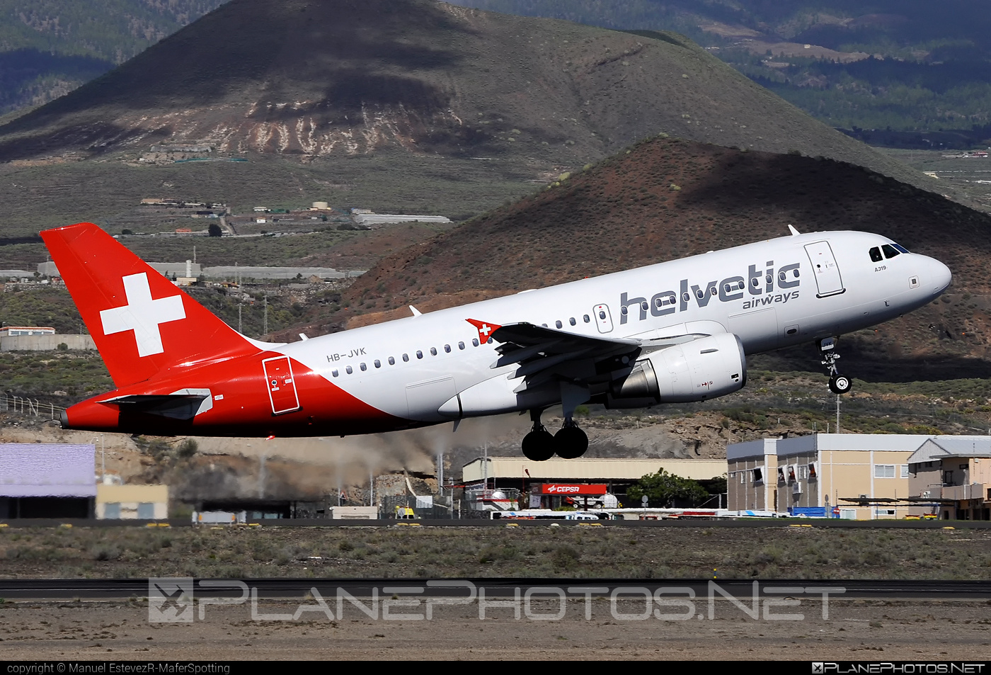 Airbus A319-112 - HB-JVK operated by Helvetic Airways #a319 #a320family #airbus #airbus319