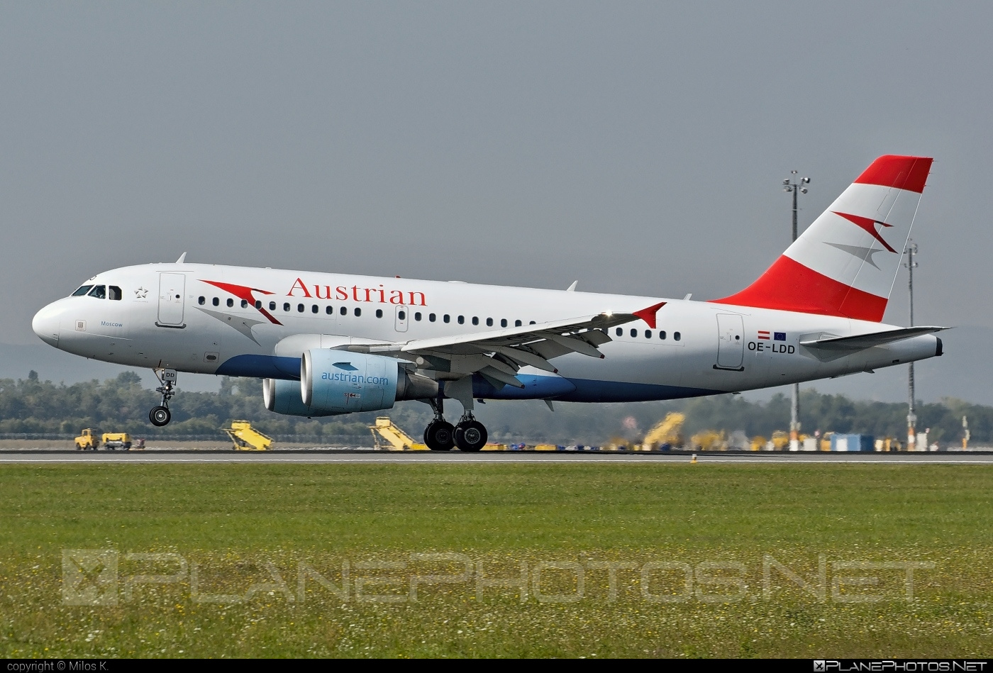 Airbus A319-112 - OE-LDD operated by Austrian Airlines #a319 #a320family #airbus #airbus319