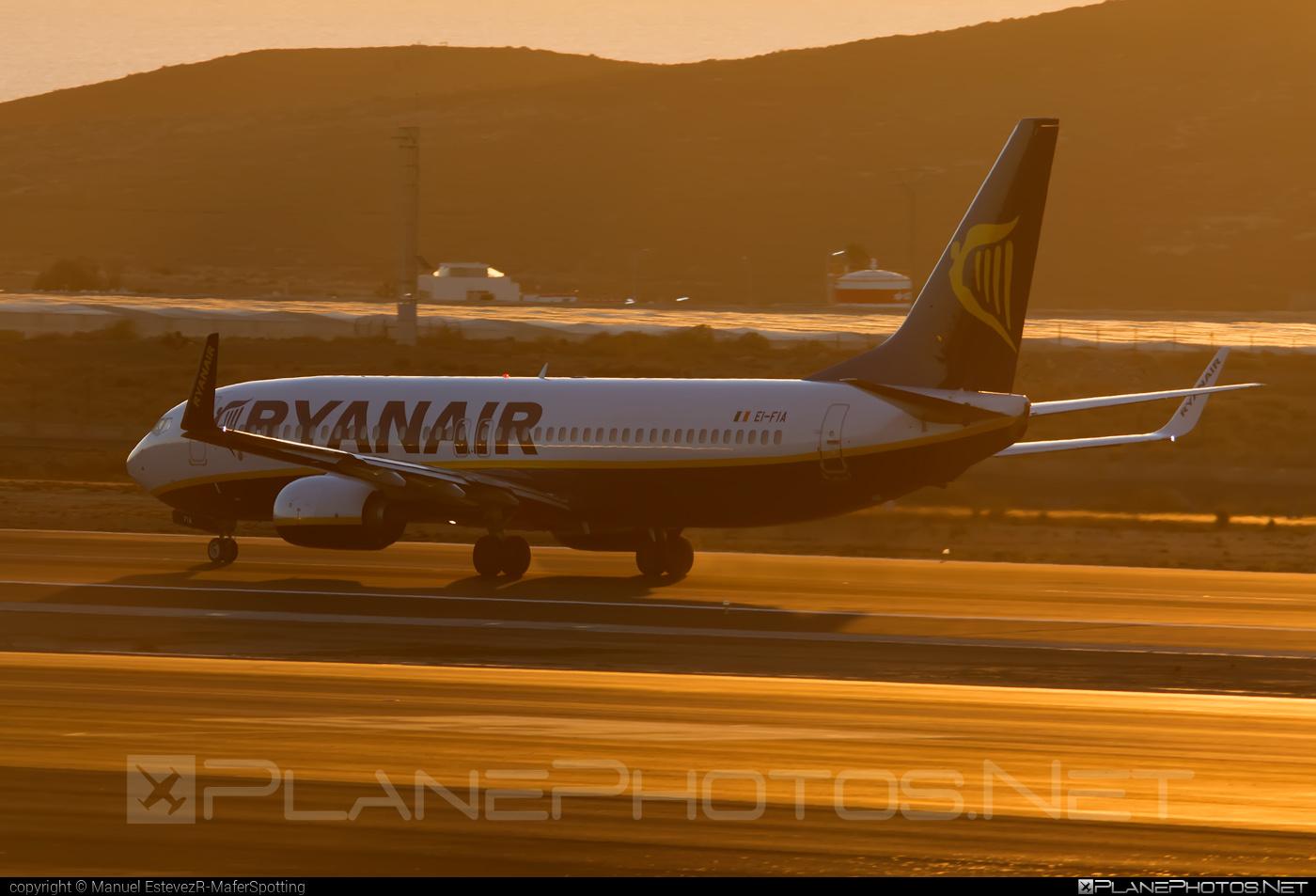 Boeing 737-800 - EI-FIA operated by Ryanair #b737 #b737nextgen #b737ng #boeing #boeing737 #ryanair