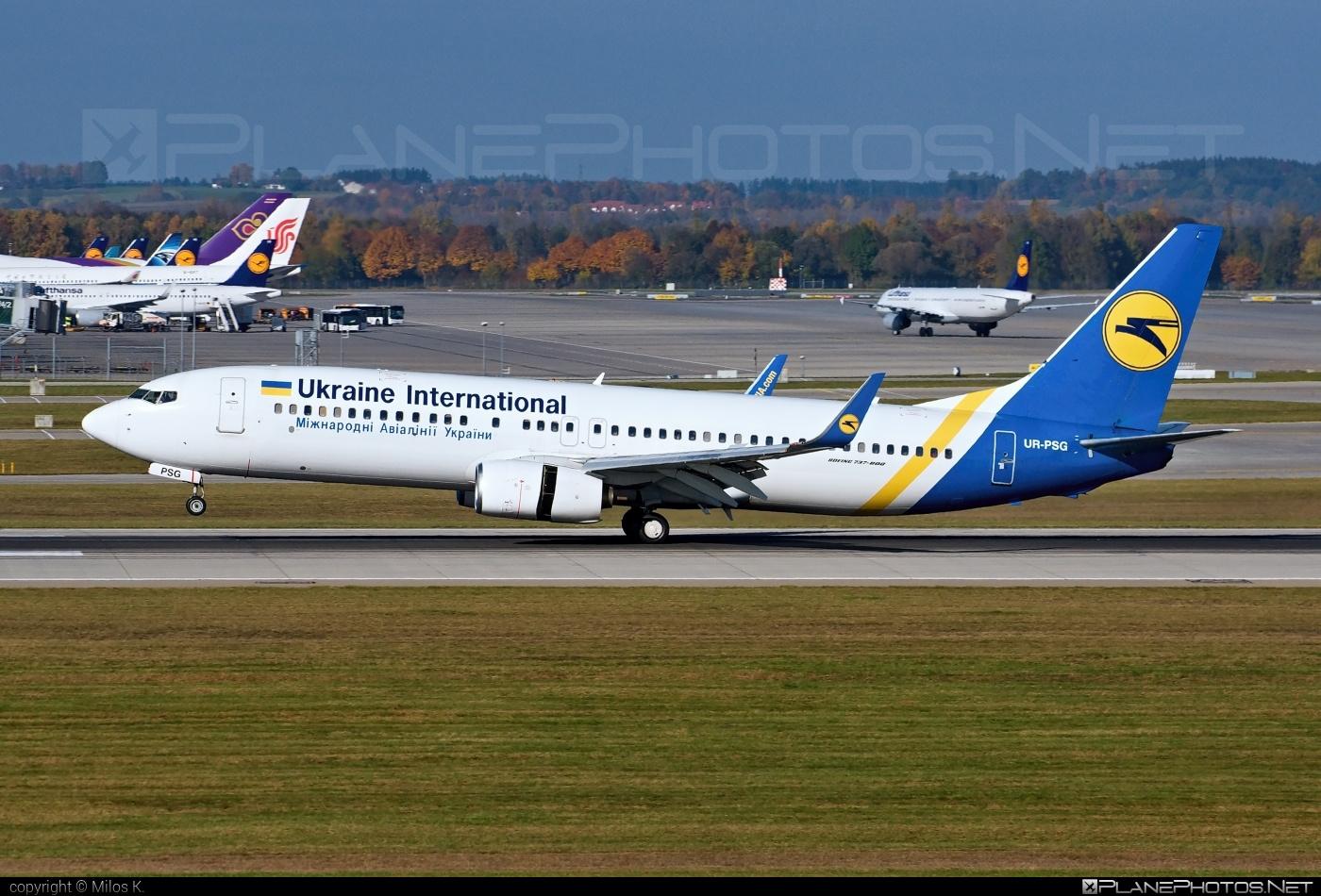 Boeing 737-800 - UR-PSG operated by Ukraine International Airlines #b737 #b737nextgen #b737ng #boeing #boeing737 #uia #ukraineinternationalairlines
