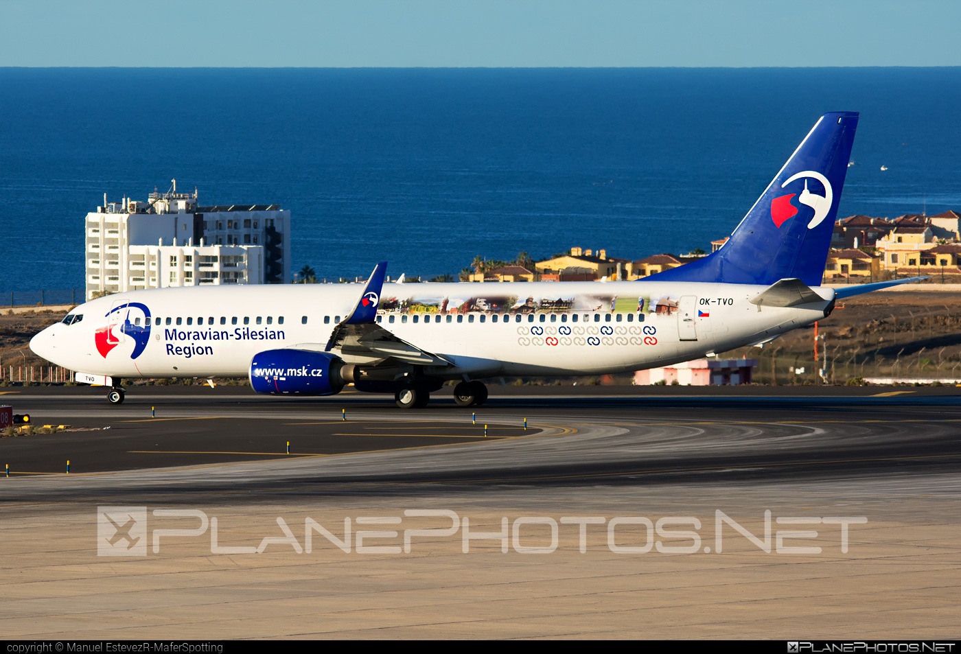 Boeing 737-800 - OK-TVO operated by Travel Service #b737 #b737nextgen #b737ng #boeing #boeing737 #travelservice