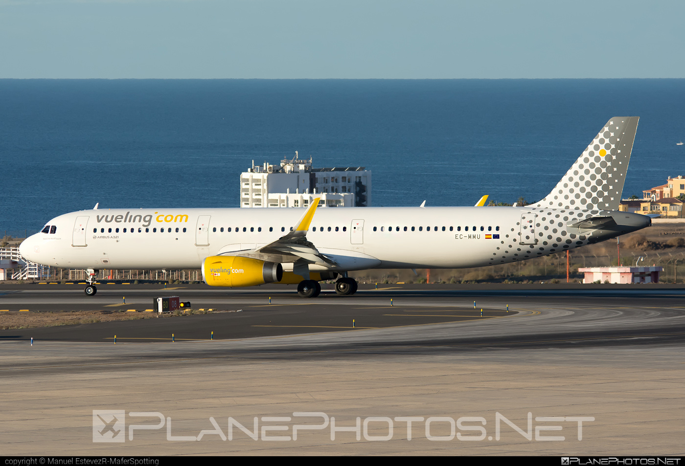 Airbus A321-231 - EC-MMU operated by Vueling Airlines #a320family #a321 #airbus #airbus321 #vueling #vuelingairlines