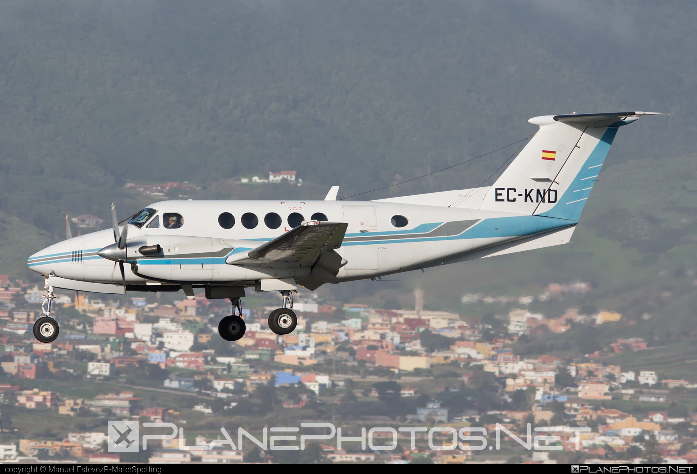 Beechcraft 200 King Air - EC-KND operated by Urgemer Canarias #beechcraft