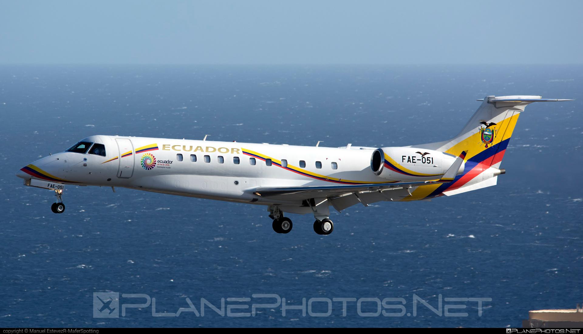 Embraer ERJ-135BJ Legacy 600 - FAE-051 operated by Fuerza Aérea Ecuadoriana (Ecuadorian Air Force) #embraer #embraer135 #embraerlegacy #erj135 #erj135bj #legacy600