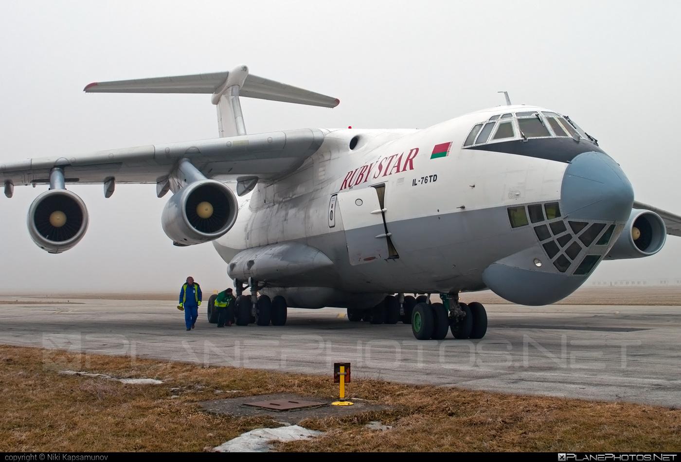 Ilyushin Il-76TD - EW-412TH operated by RubyStar #il76 #il76td #ilyushin #rubystar