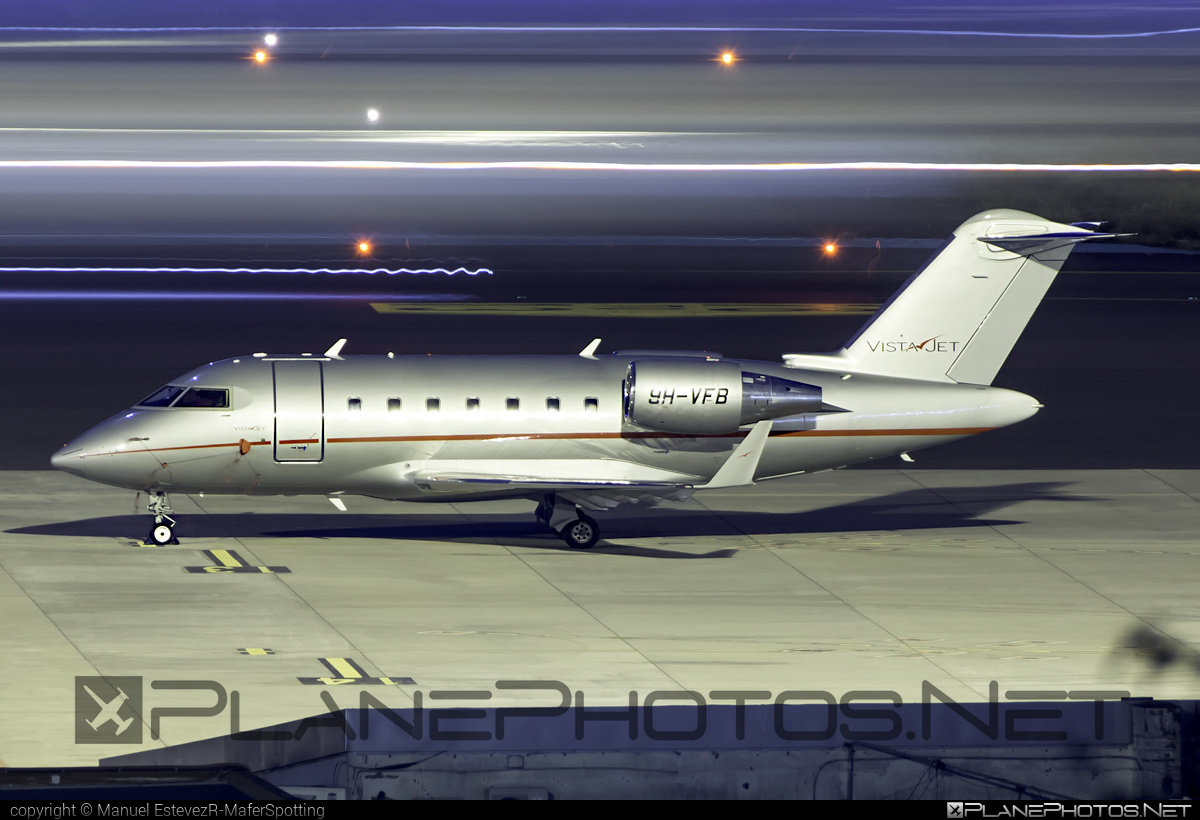 Bombardier Challenger 605 (CL-600-2B16) - 9H-VFB operated by VistaJet #bombardier #challenger605 #cl6002b16 #vistajet