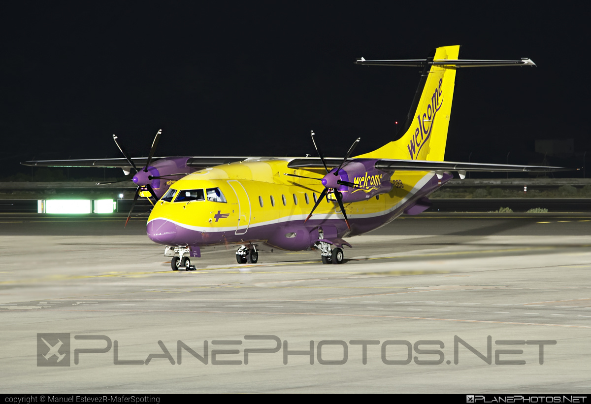 Dornier 328-110 - OE-GBB operated by Welcome Air #dornier