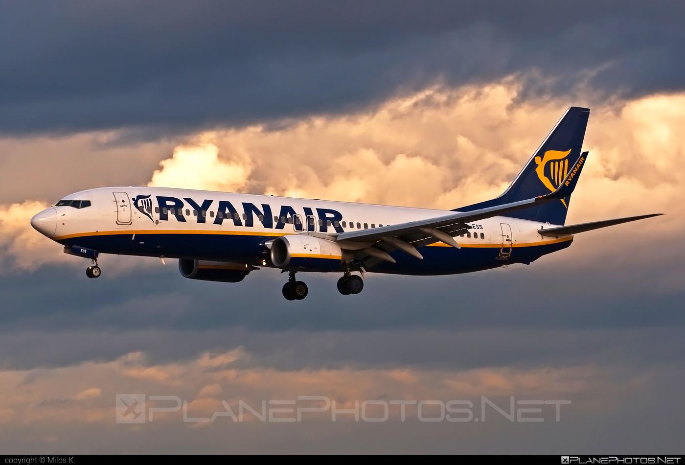 Boeing 737-800 - EI-ESS operated by Ryanair #b737 #b737nextgen #b737ng #boeing #boeing737 #ryanair