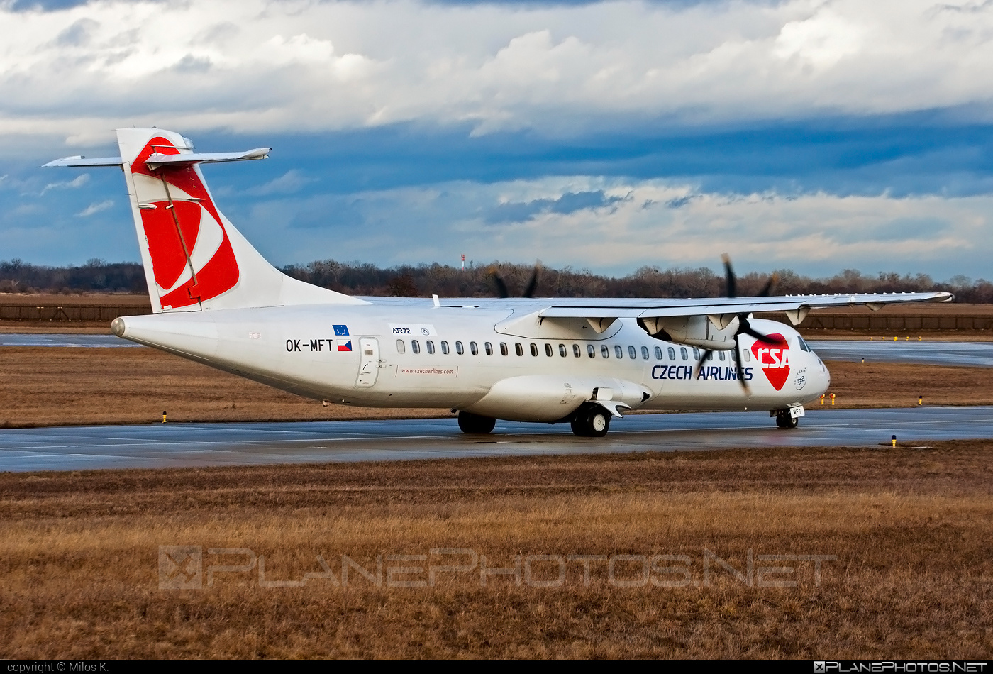 ATR 72-212A - OK-MFT operated by CSA Czech Airlines #atr #csa #czechairlines