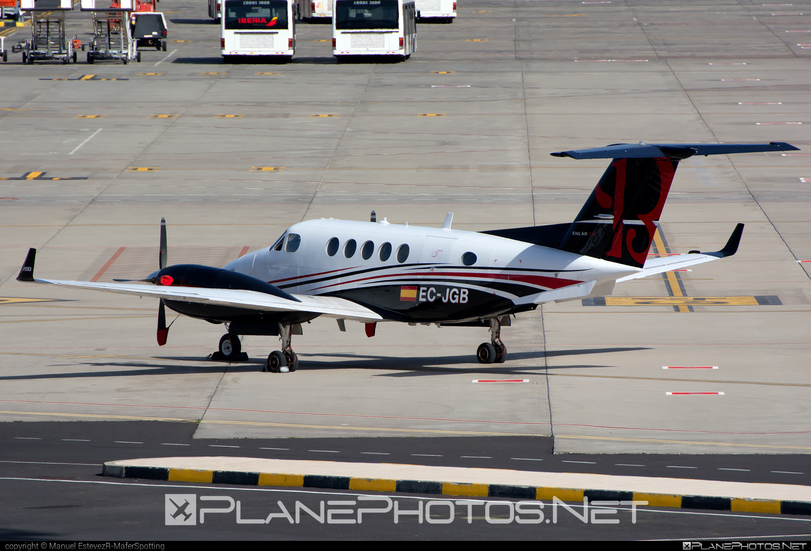 Beechcraft King Air 200 - EC-JGB operated by Private operator #beechb200 #beechcraft #beechcraftb200 #kingair #kingair200