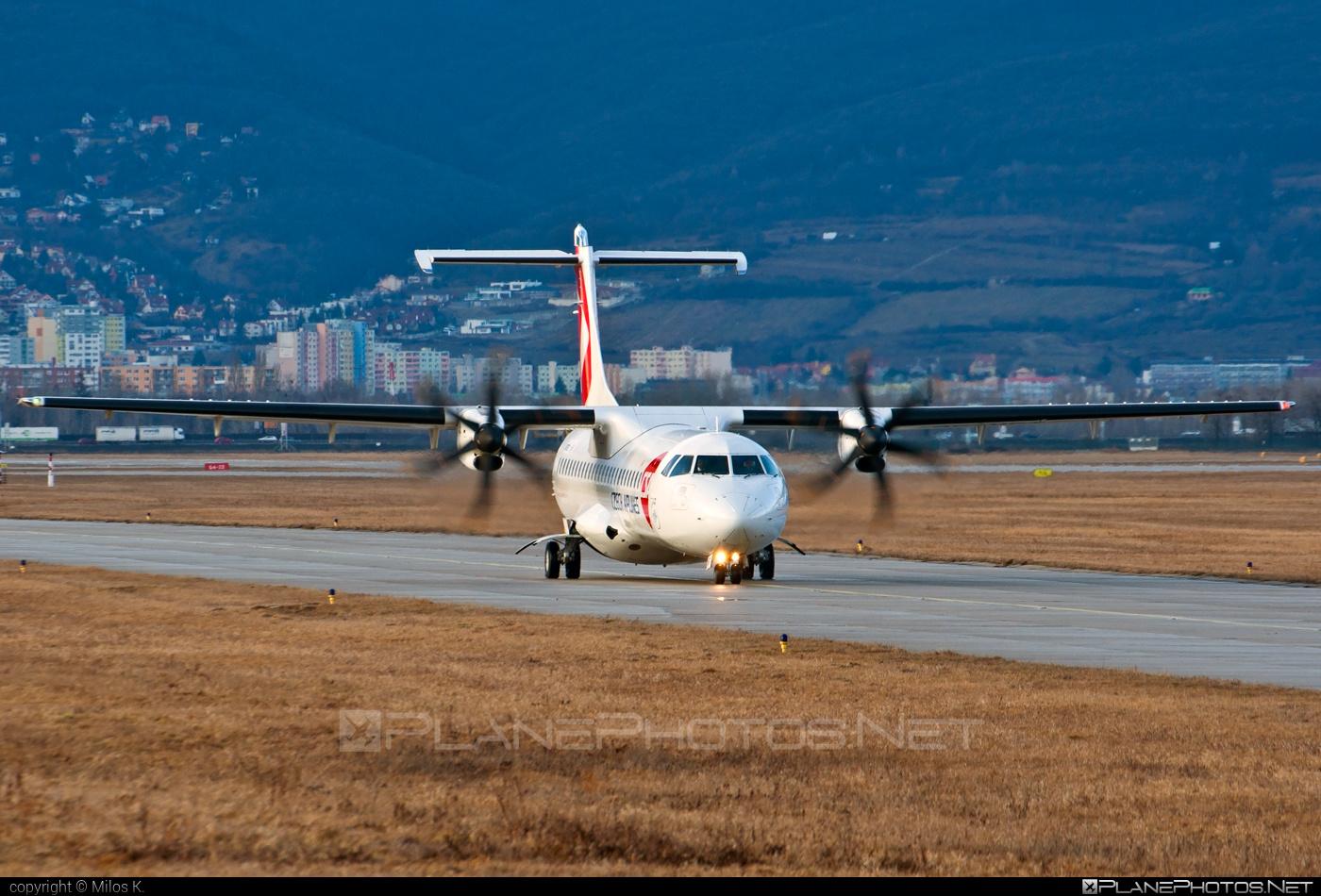 ATR 72-212A - OK-MFT operated by CSA Czech Airlines #atr #csa #czechairlines
